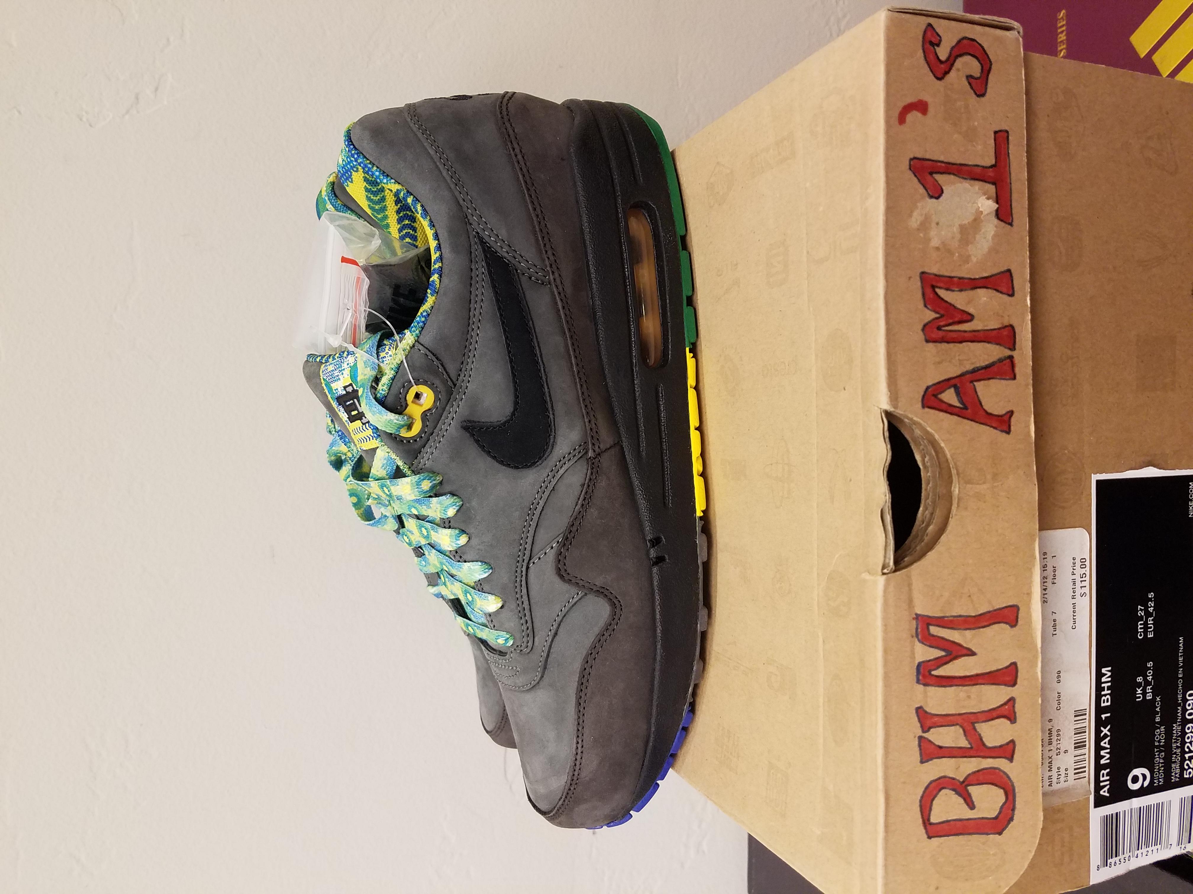 Nike Nike Air Max 1 Bhm Black History Month 2012