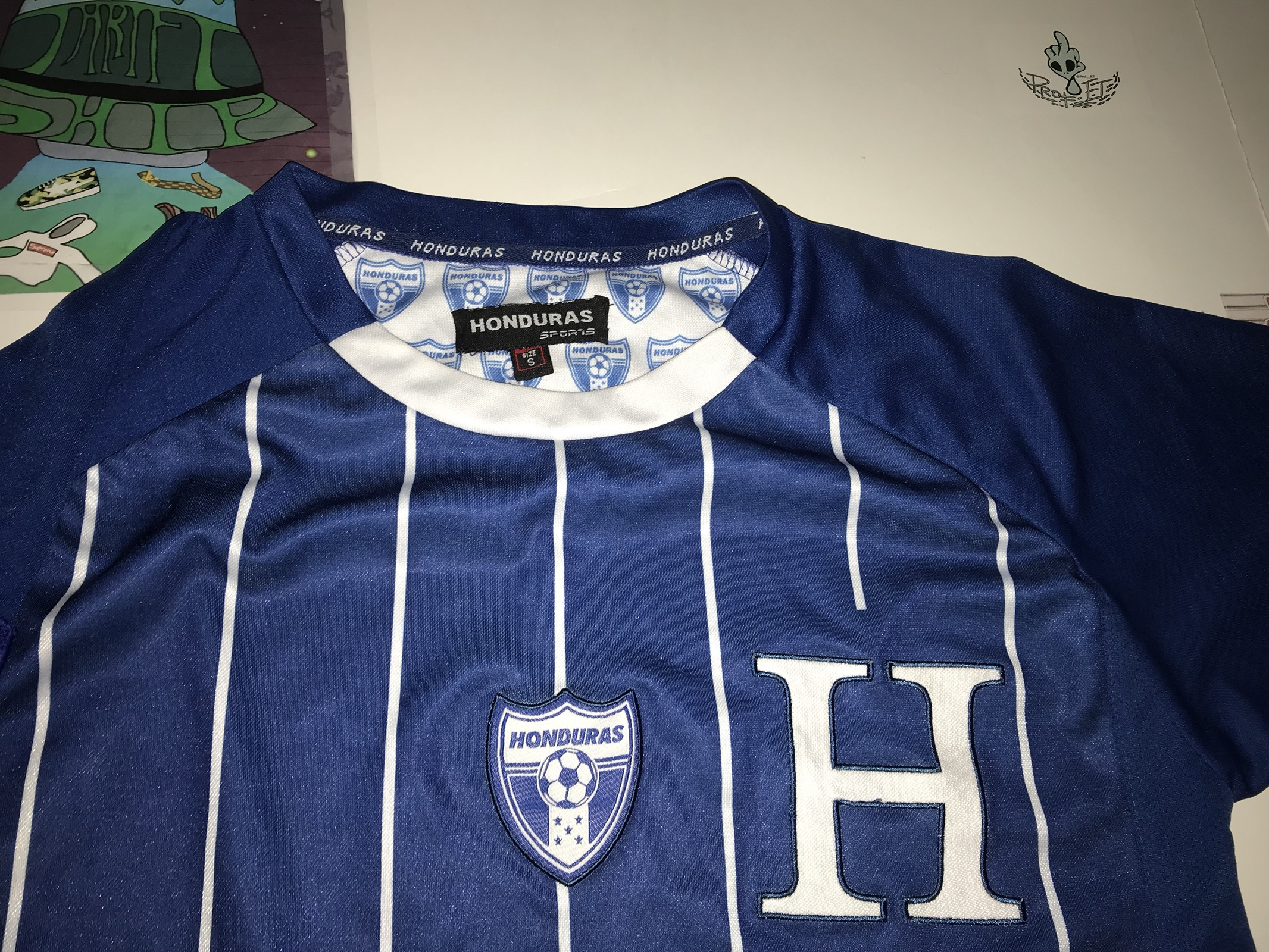 bf822badf Vintage 2010 FIFA WORLD CUP Jersey Honduras Size s - Jerseys for ...
