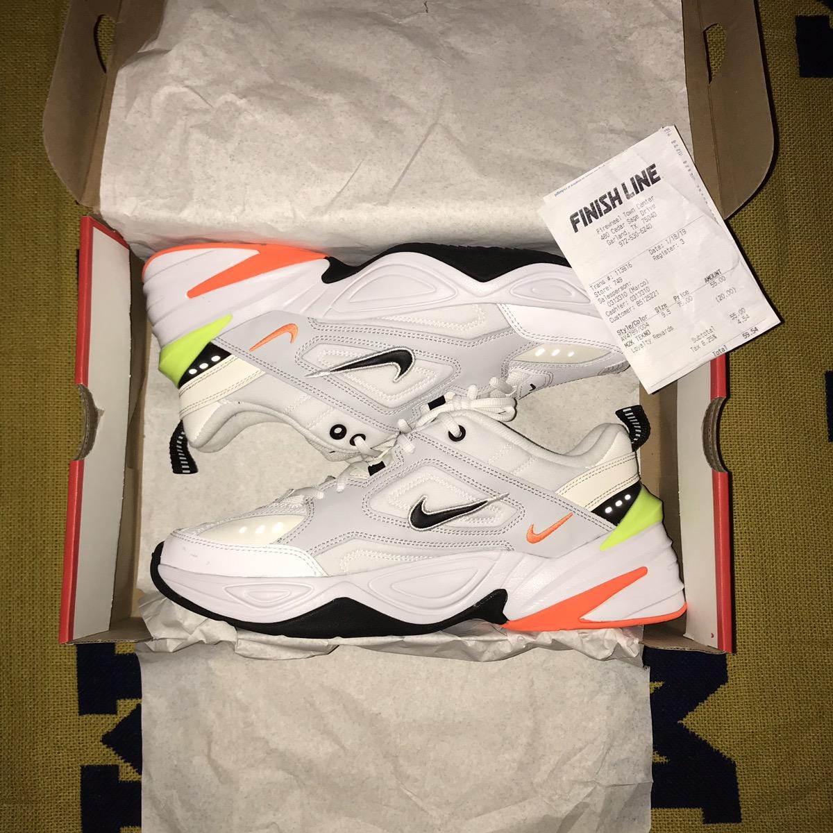 low cost 80af1 8ee14 Nike Nike M2k Tekno Mens (pure Platinum black sail white) final    Grailed