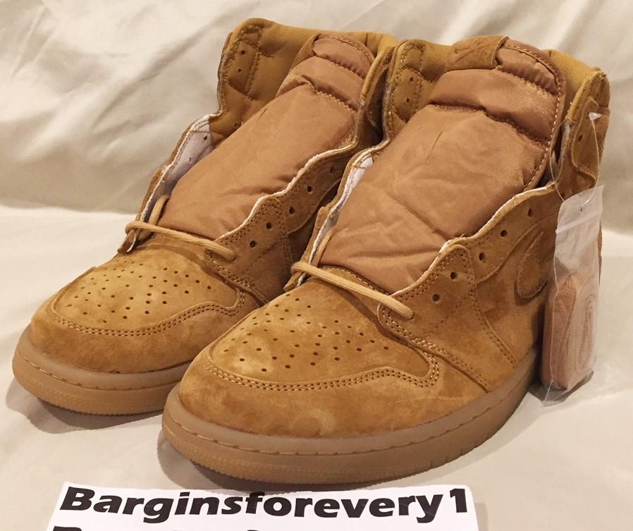 86d1018a74d Jordan Brand Air Jordan 1 Retro Hi OG - Size 12 (Wheat   Flax) - Golden  Harvest - 555088-710 Size 12 - Hi-Top Sneakers for Sale - Grailed