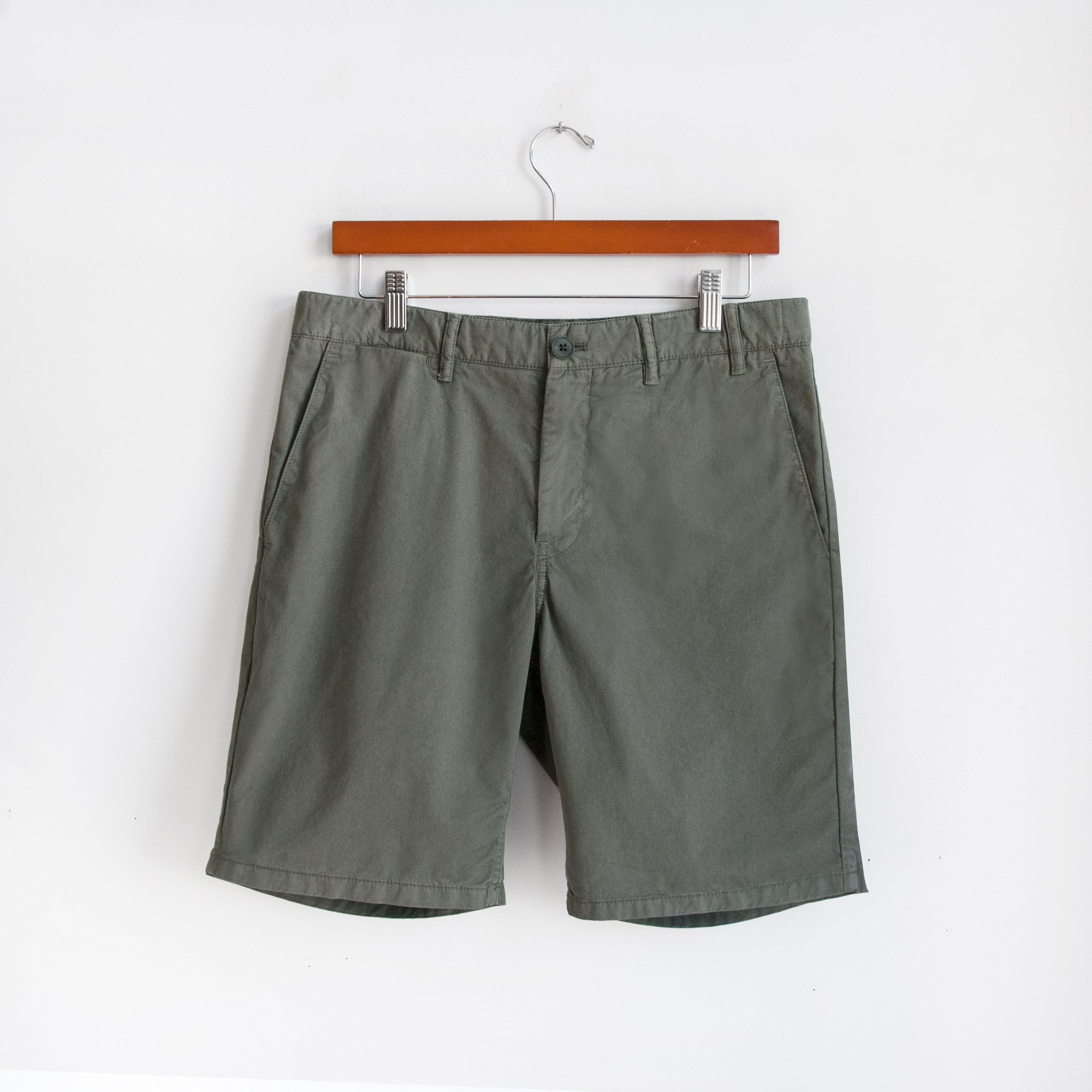 8448aace5aa Norse Projects Aros Light Twill Shorts - Dried Olive | Grailed