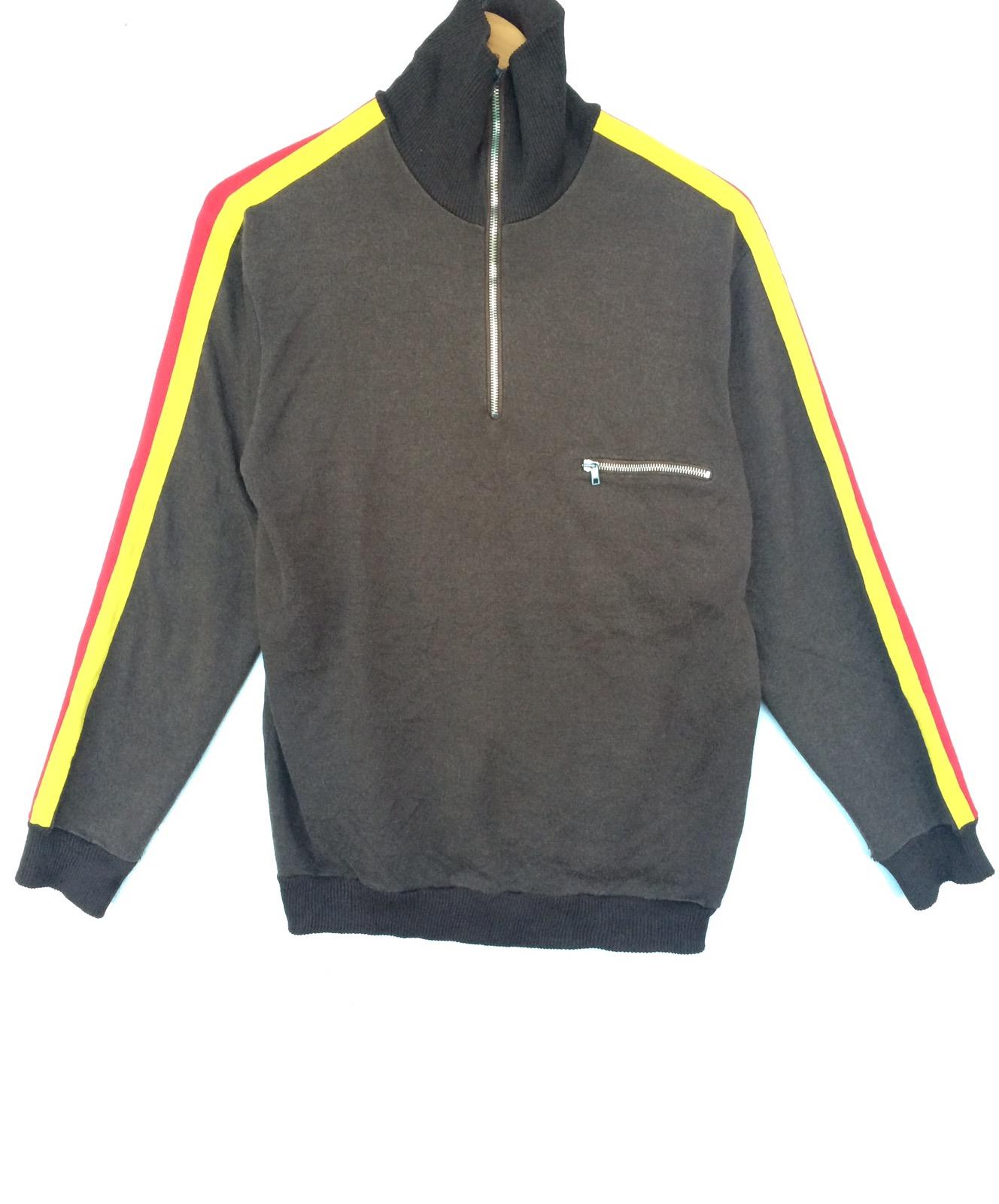 Vintage Army Germany Bundeswehr sweater zipper sweatshirt very rare ss264