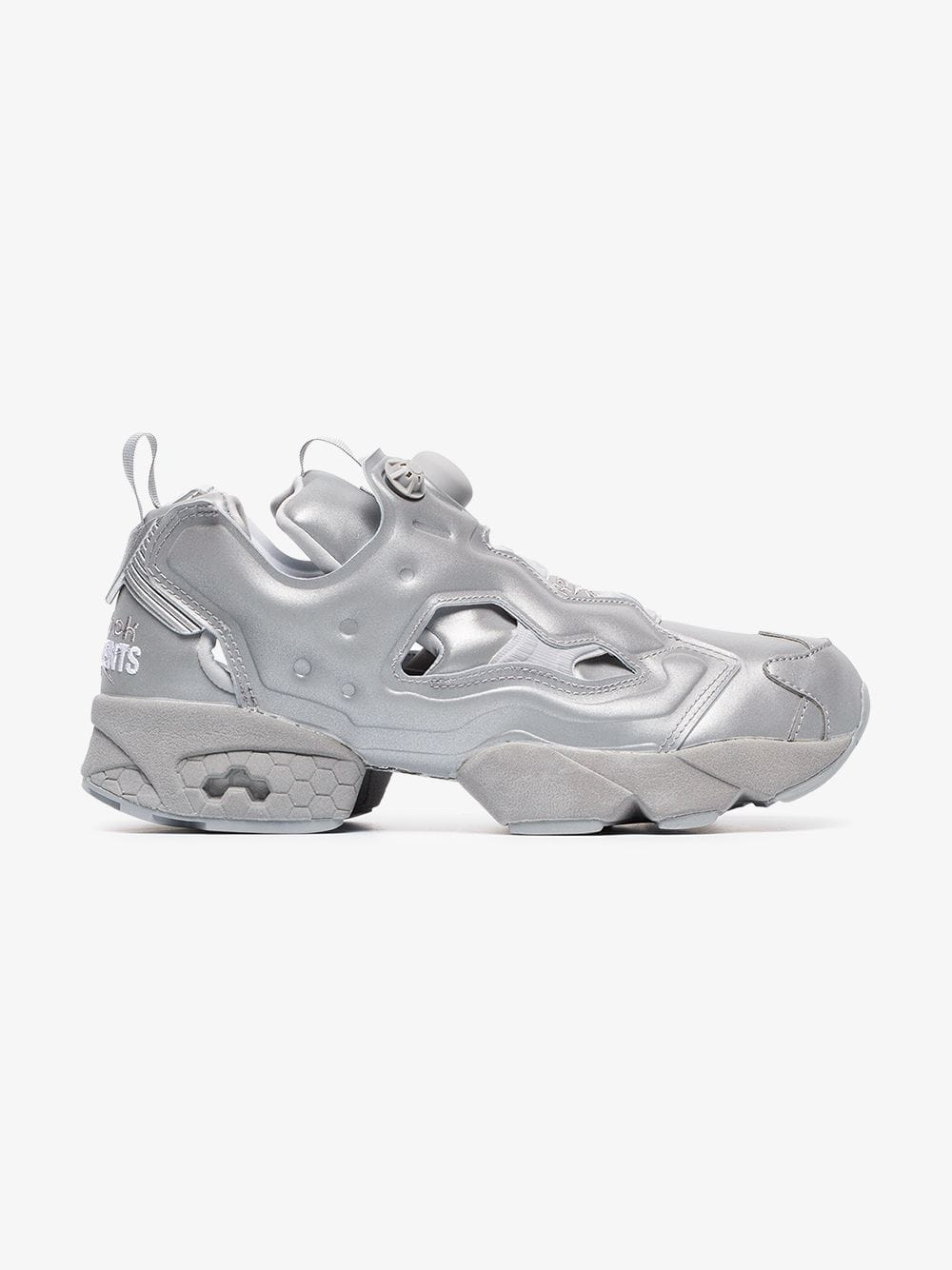 786b9c09dd5 Reebok Vetements x Reebok AW18 Instapump Fury - Reflective Silver 3M™ Size  11 - Slip Ons for Sale - Grailed