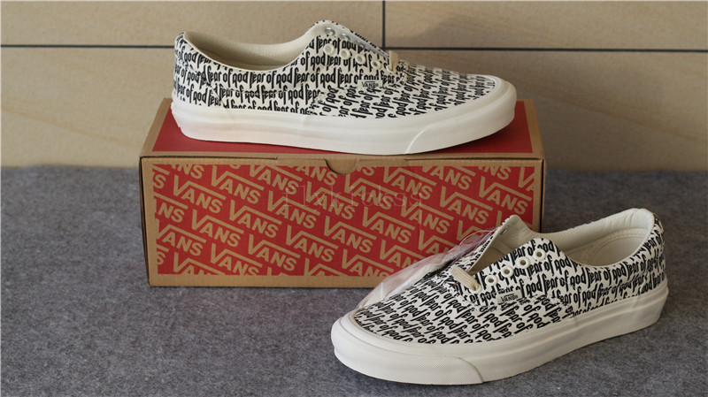 583cba483c Fear of God Fear of God Vans OG Size 10.5 - Low-Top Sneakers for Sale -  Grailed