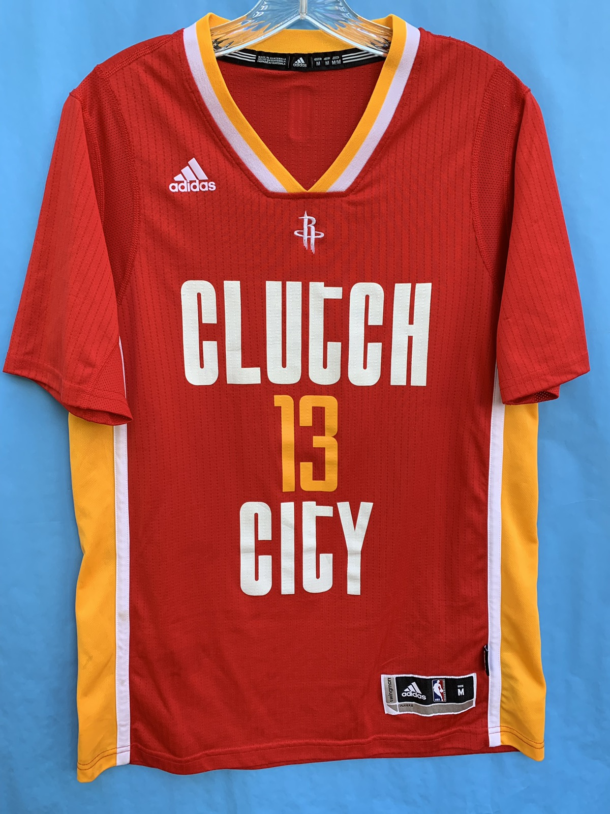100% authentic a1e38 c99f2 2015 Adidas James Harden Houston Rockets Clutch City Jersey