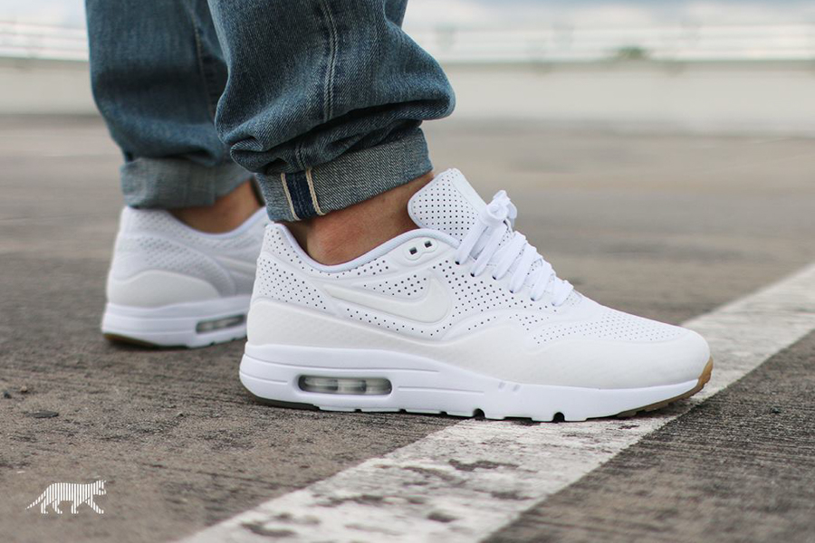 nike air max 1 ultra rood wit
