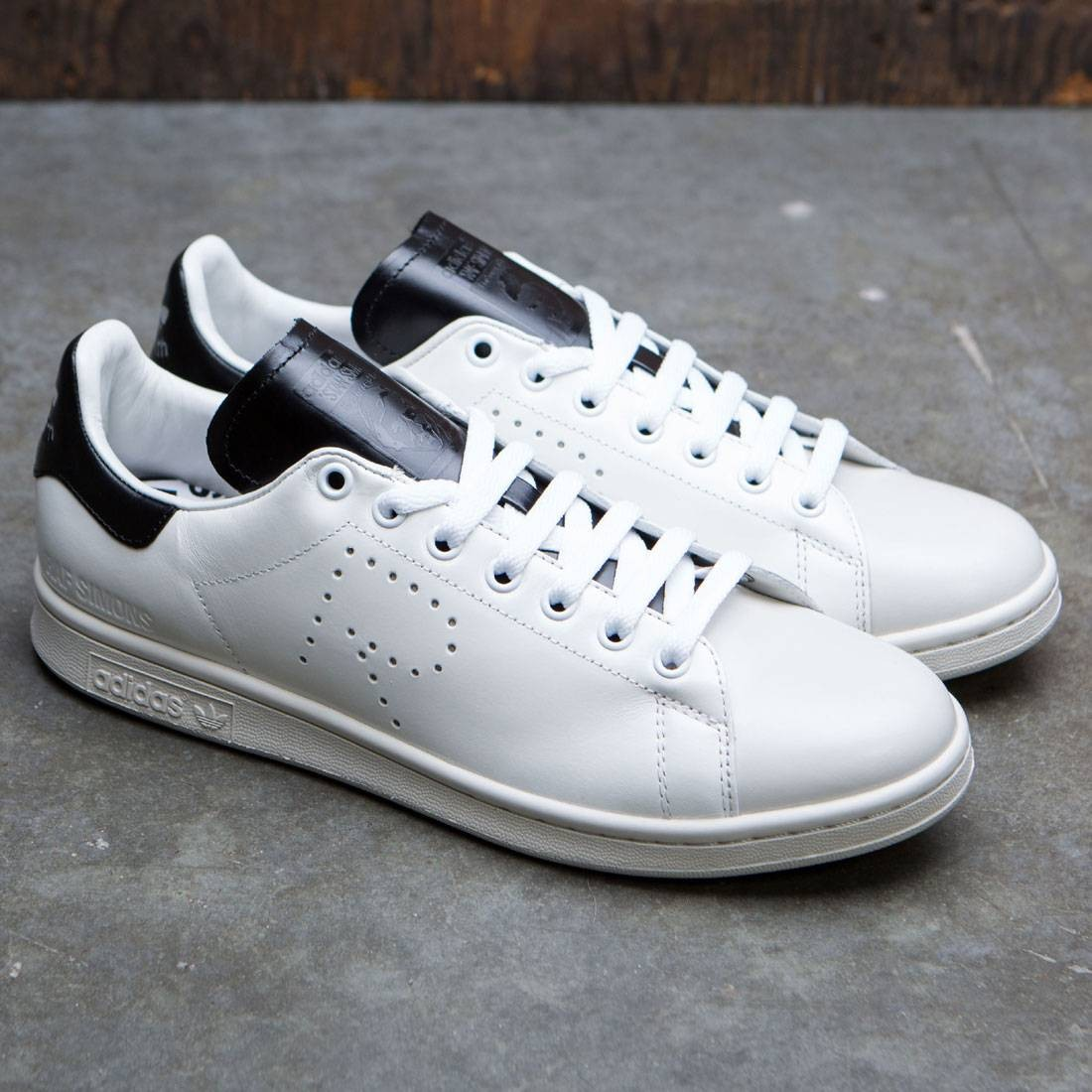 uk availability e01f5 a34b8 ADIDAS X RAF SIMONS STAN SMITH OPTIC WHITE/CORE BLACK