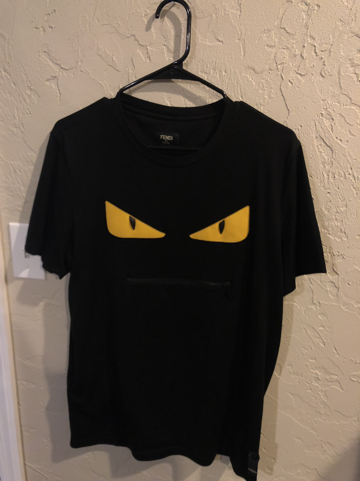 Fendi Bag Bugs Zip Tee PROOF OF AUTHENTICITY Size m - Short Sleeve T-Shirts  for Sale - Grailed 5eb0d2f60608c