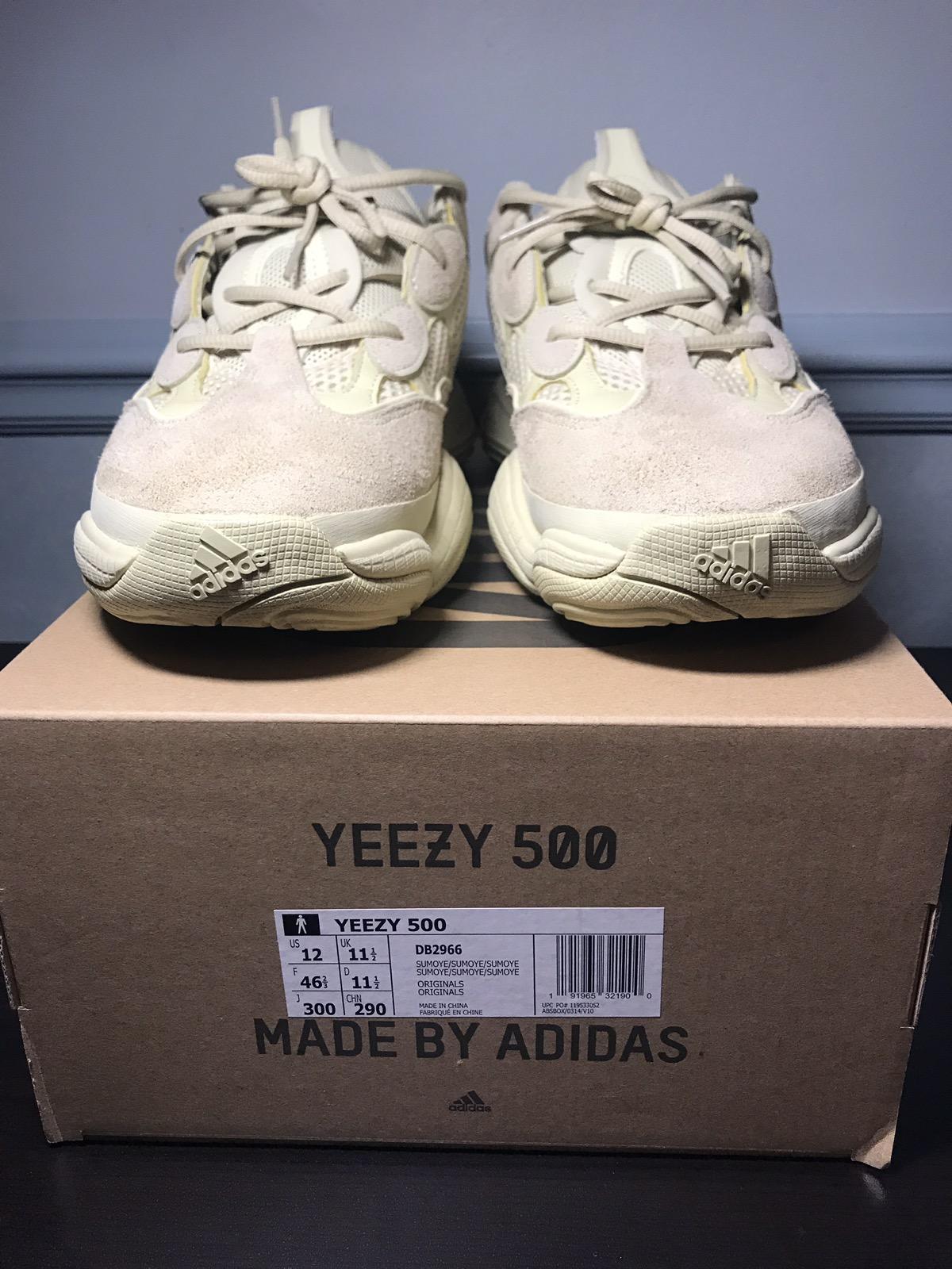 e2d529662 Kanye West × Adidas Kanye West × Yeezy Boost ×. Yeezy 500 Supermoon Yellow