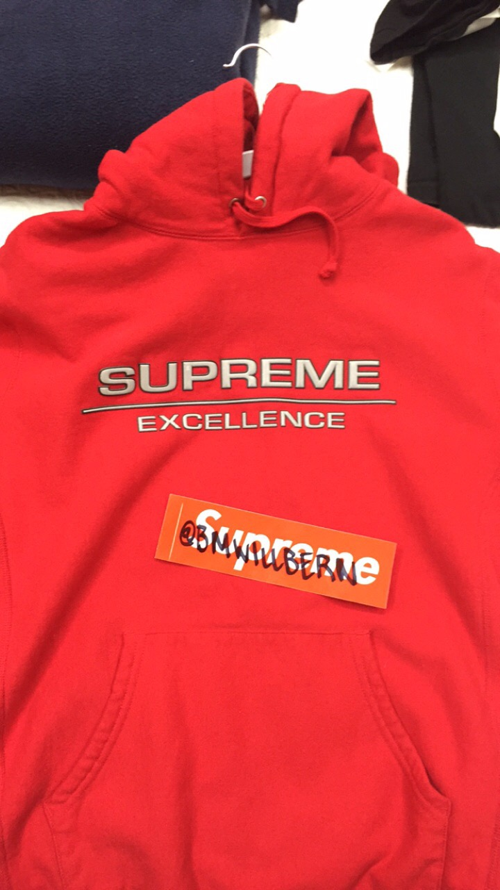 Supreme Supreme Reflective Excellence Hoodie [ 1280 x 720 Pixel ]