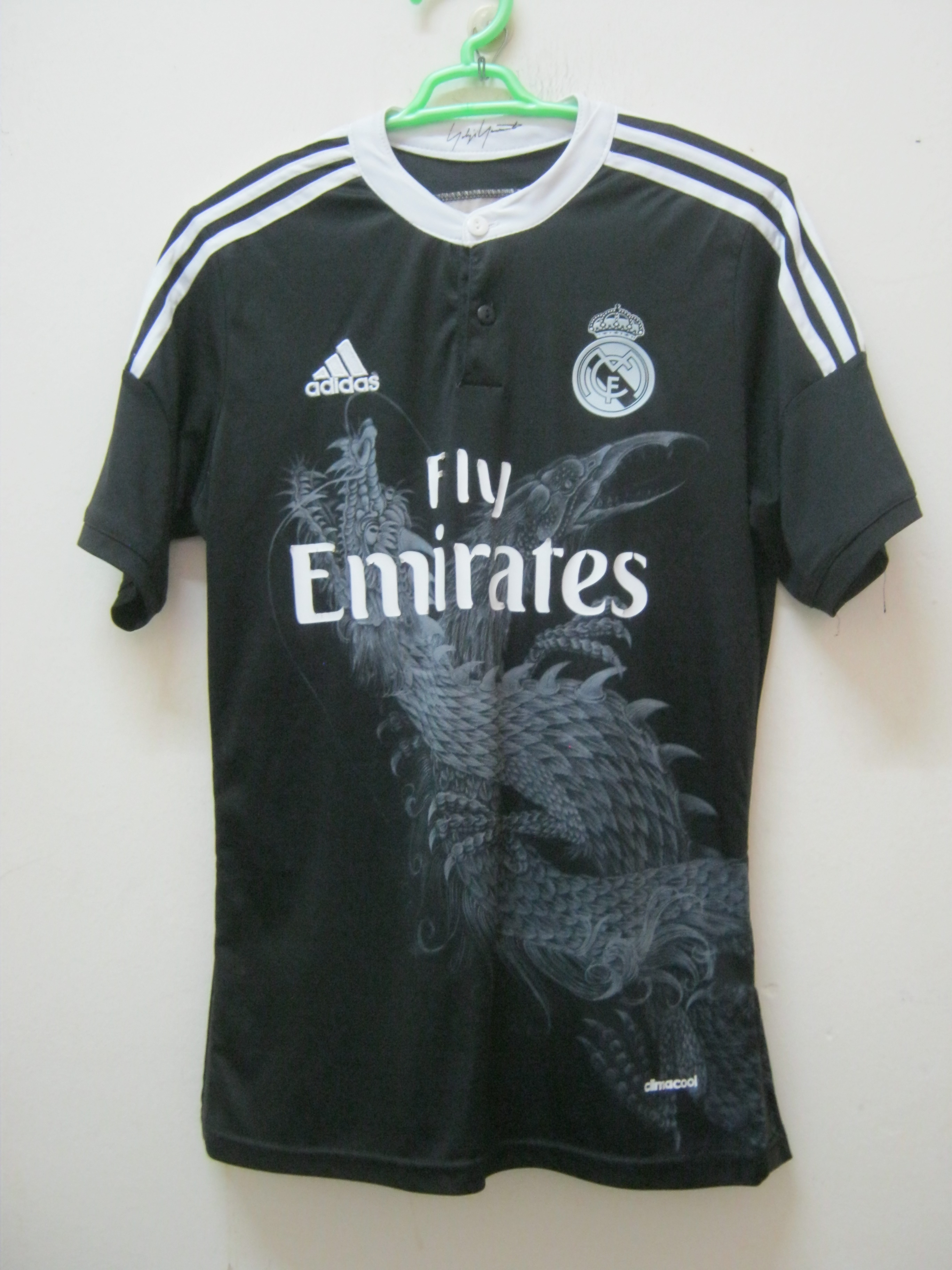 2d34cab75aa Yohji Yamamoto ×. WoW!!! RARE!! Real Madrid Adidas Jersey Dragon X ...