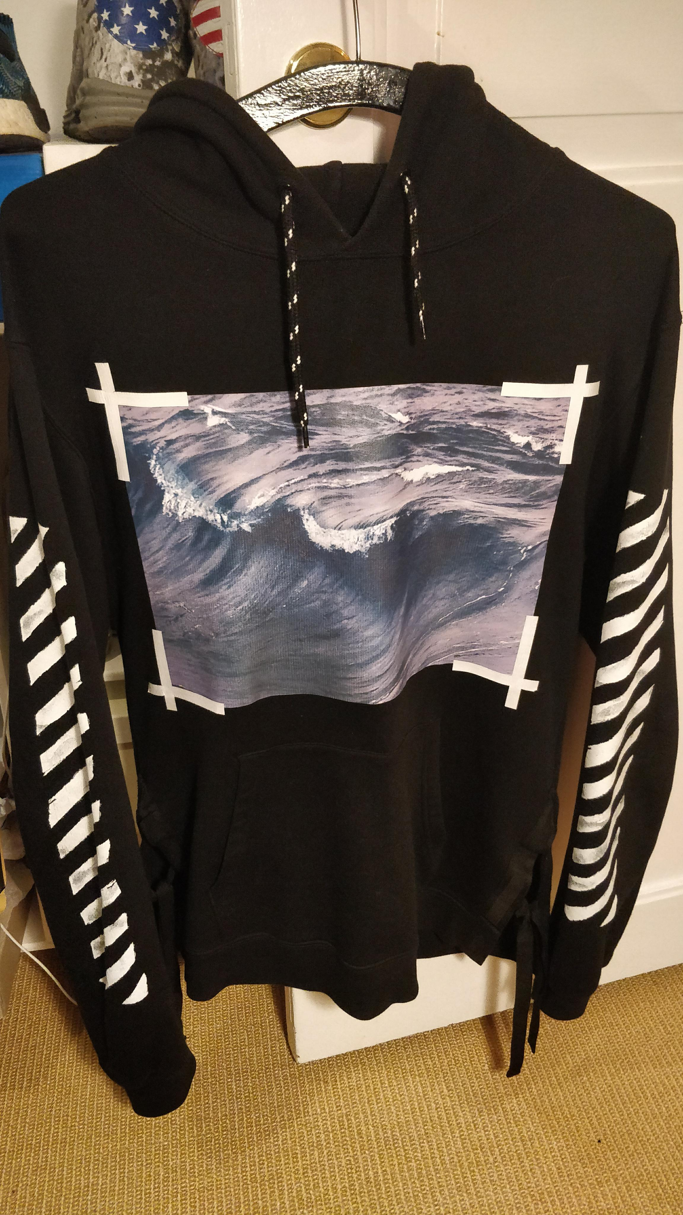 best sneakers 497c5 bc033 Off-White ×. Off White Waves hoodie