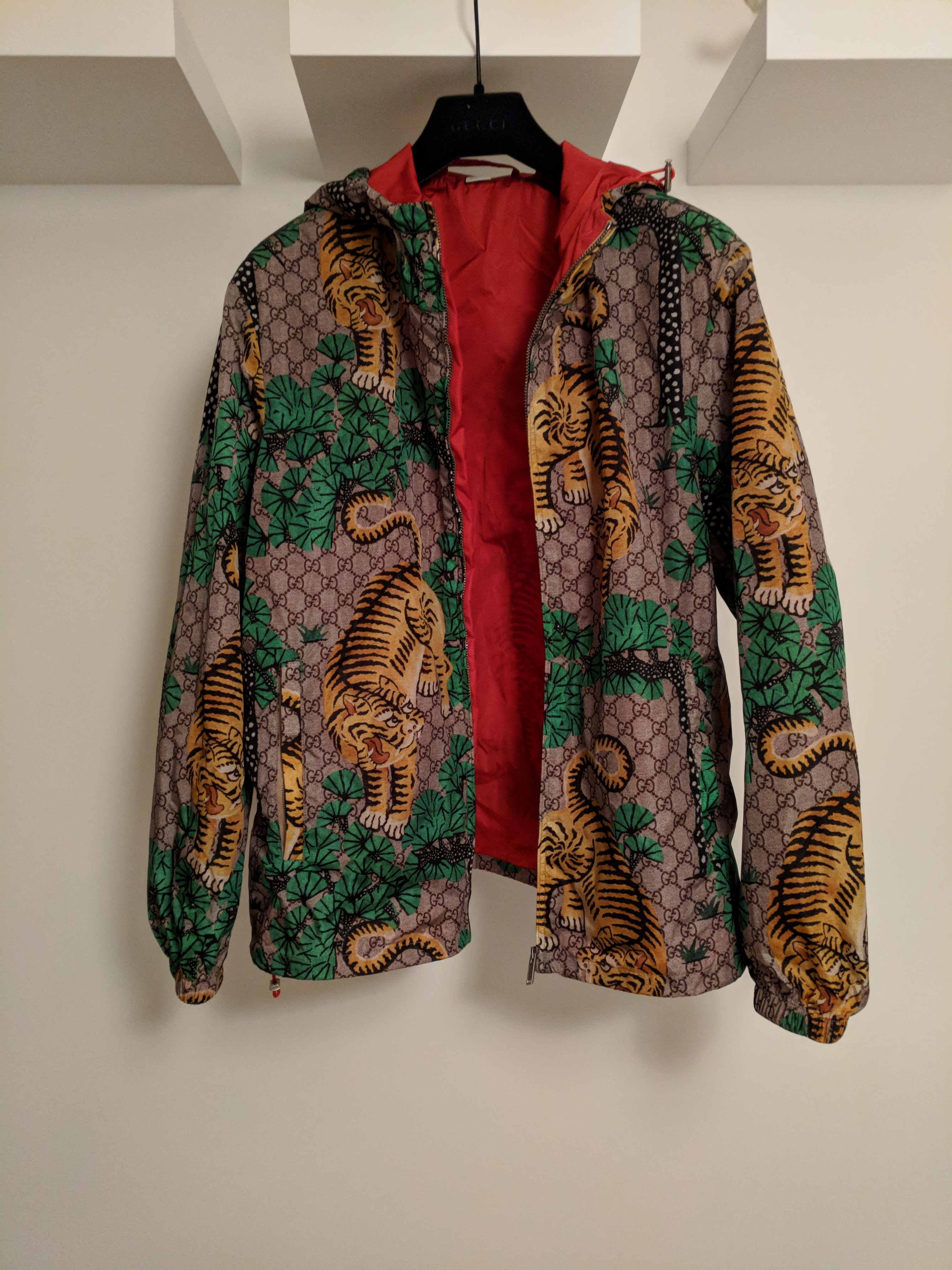 f4b241208 Gucci Gucci Bengal Windbreaker Jacket | Grailed