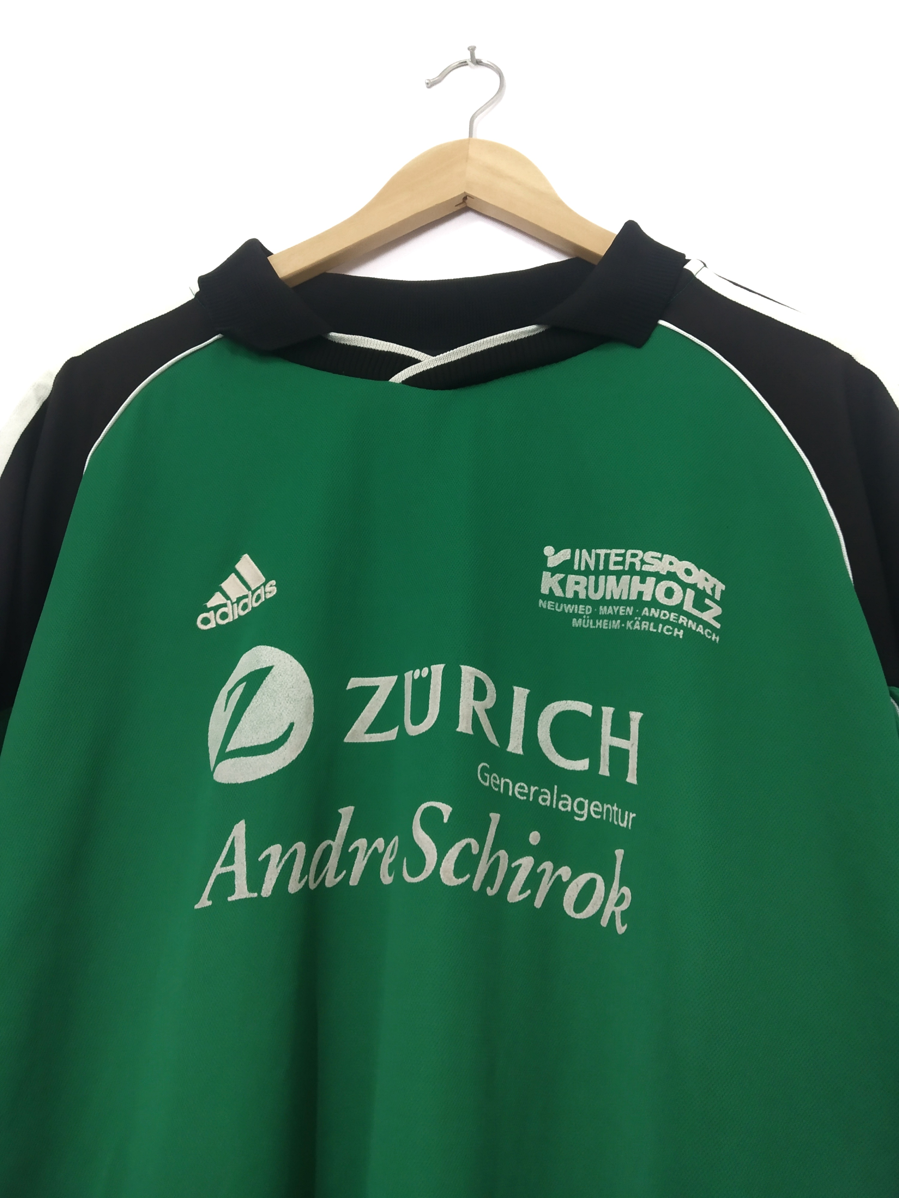 Retro Adidas Intersport Krumholz Football Shirt