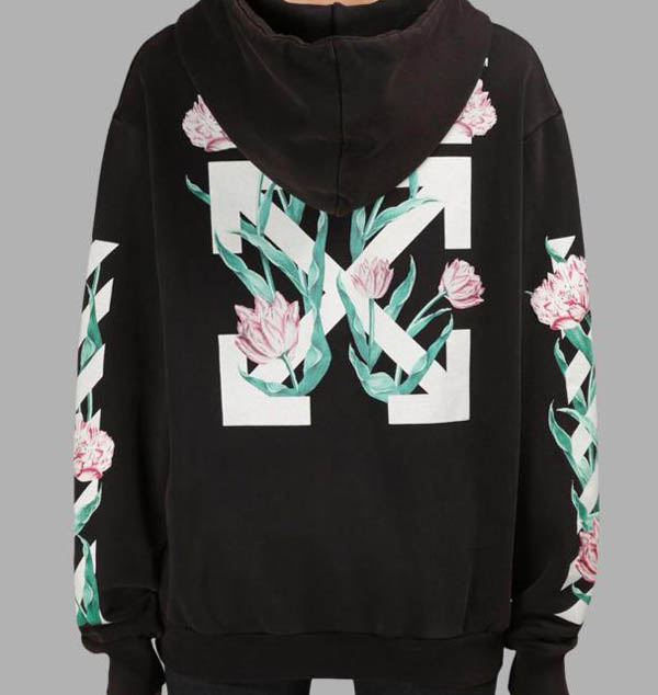 ed438704f9cae Off-white Offwhite Tulip Flower Hoodie
