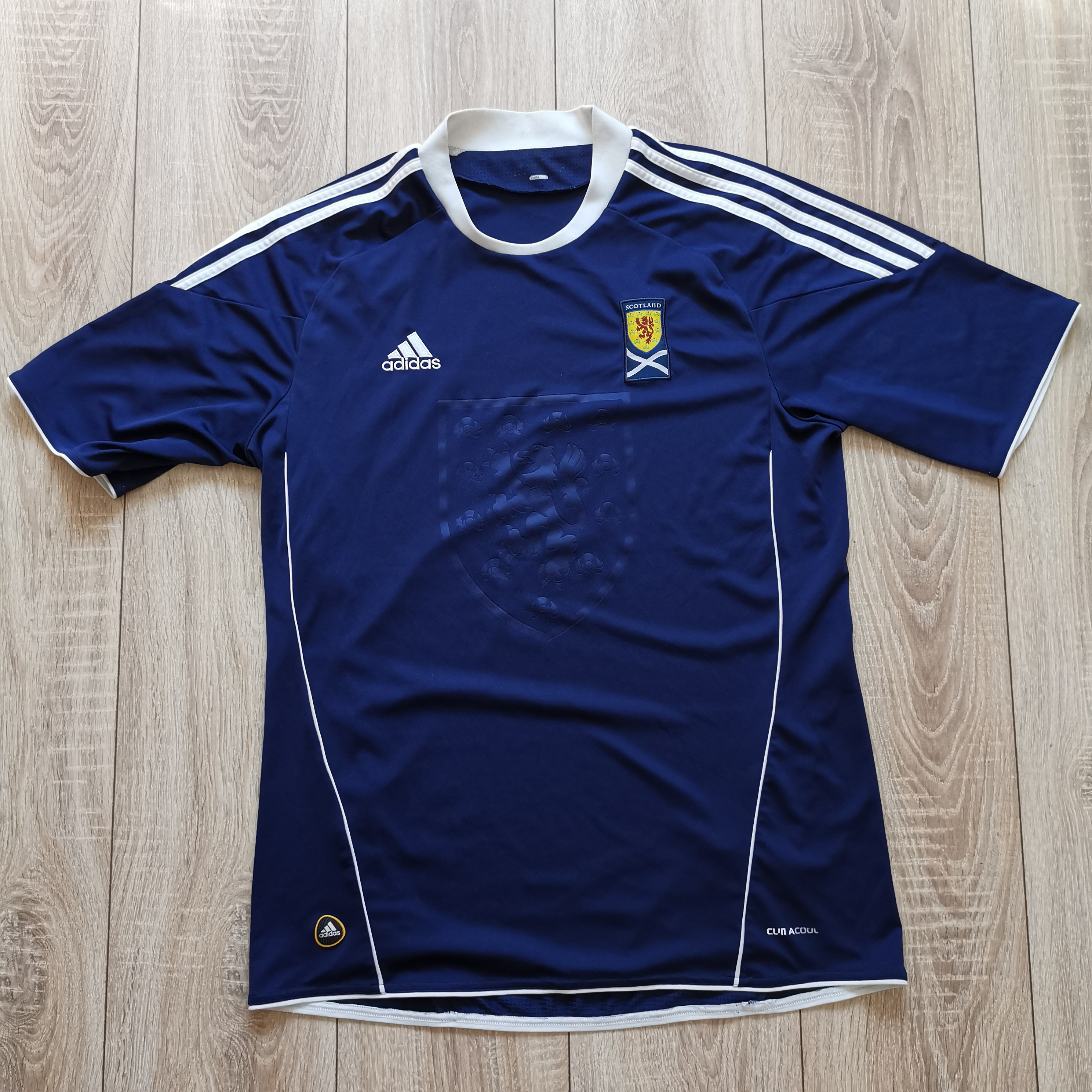 Adidas Adidas Scotland 2010 2011 home soccer jersey football shirt