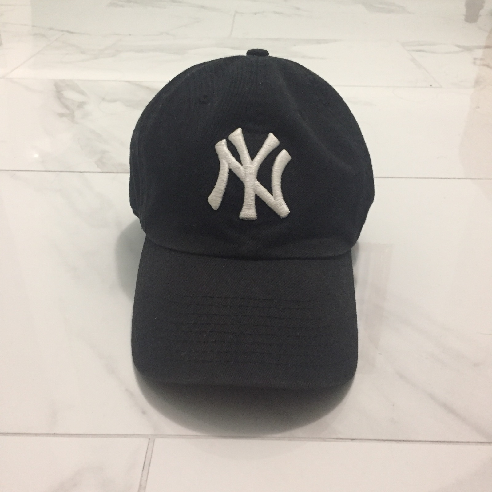 Lids Blue Yankees Adjustable Dad Cap Size one size - Hats for Sale ... f8c56be8ff8