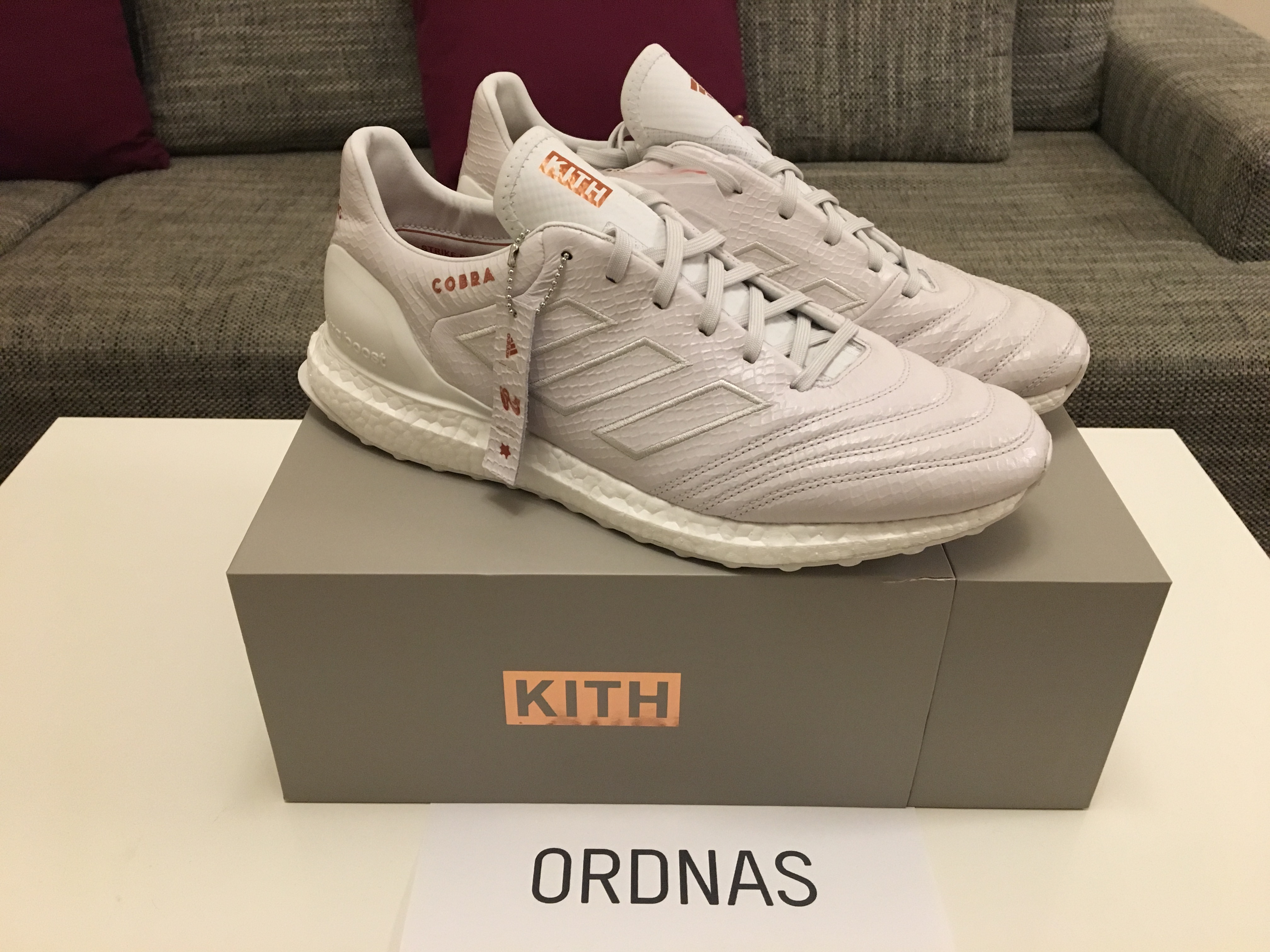 huge discount 8b320 e37b5 Adidas Kith x Adidas Copa 17.1 Cobra Ultra Boost Size 11.5 - Low-Top  Sneakers for Sale - Grailed