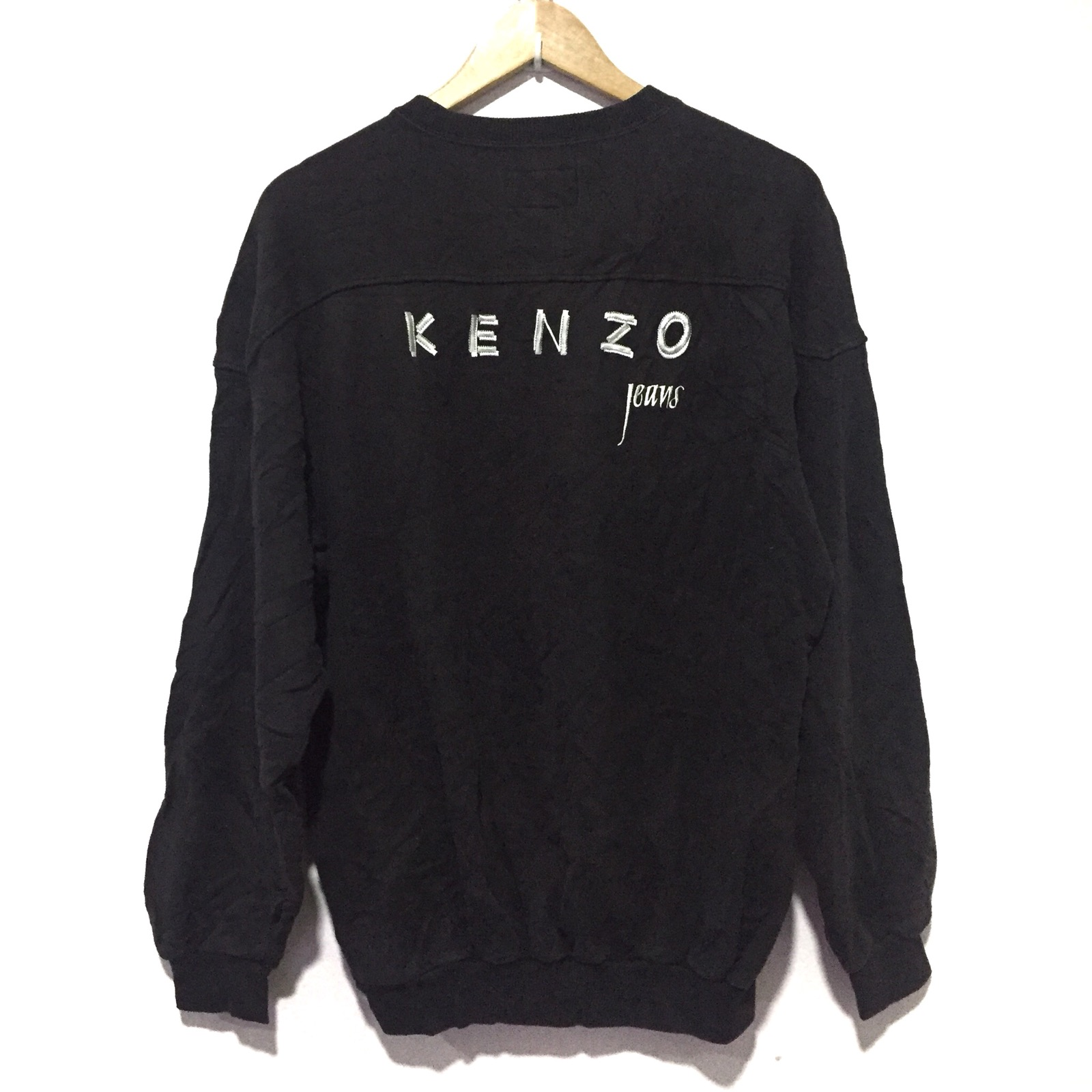 b530842bfc LAST CALL!!! SPELL OUT CREWNECK PULLOVER SWEATSHIRT BY KENZO JEANS
