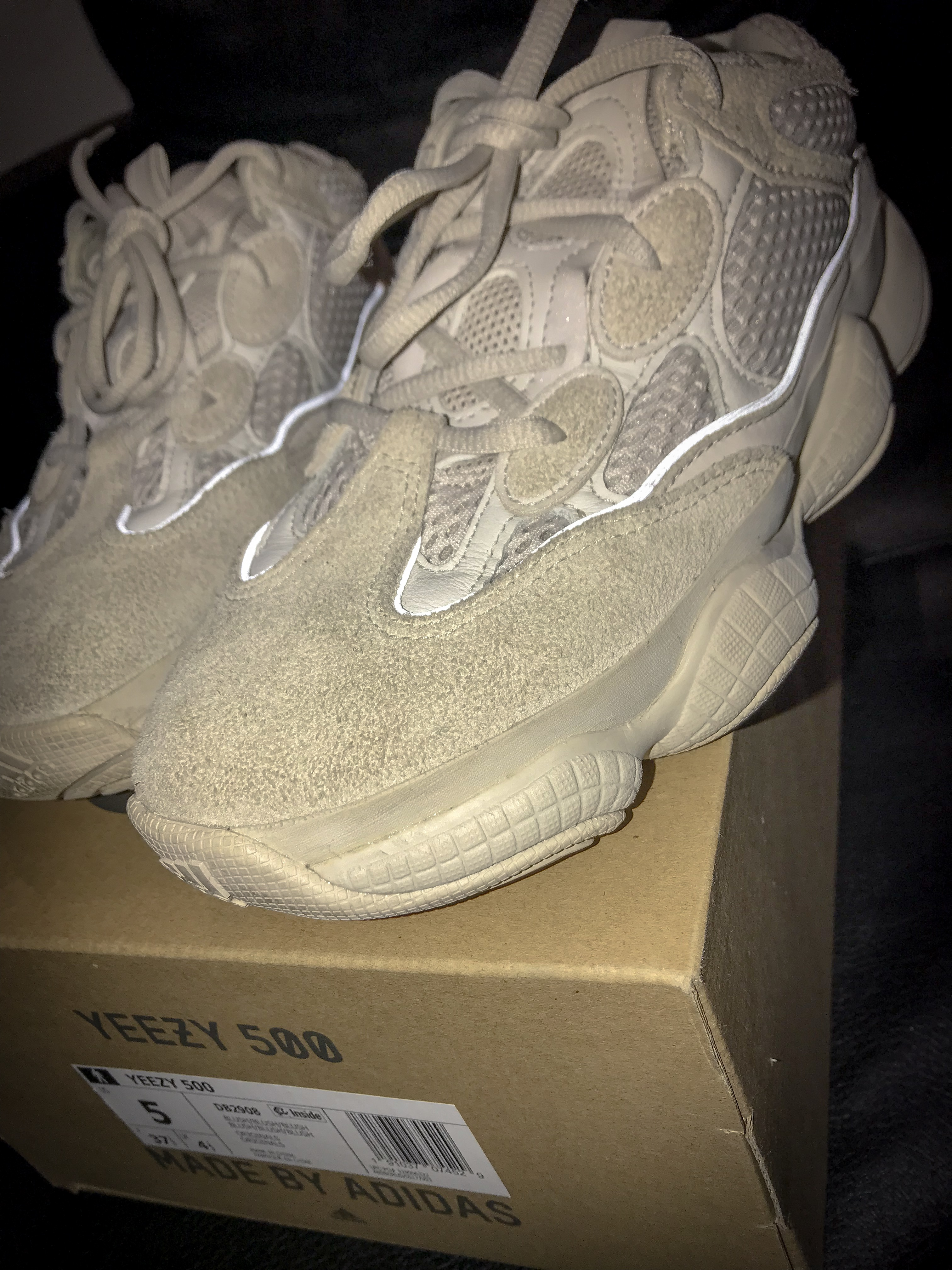 competitive price 417de f9753 Yeezy x Kanye West x Adidas Blush 500s