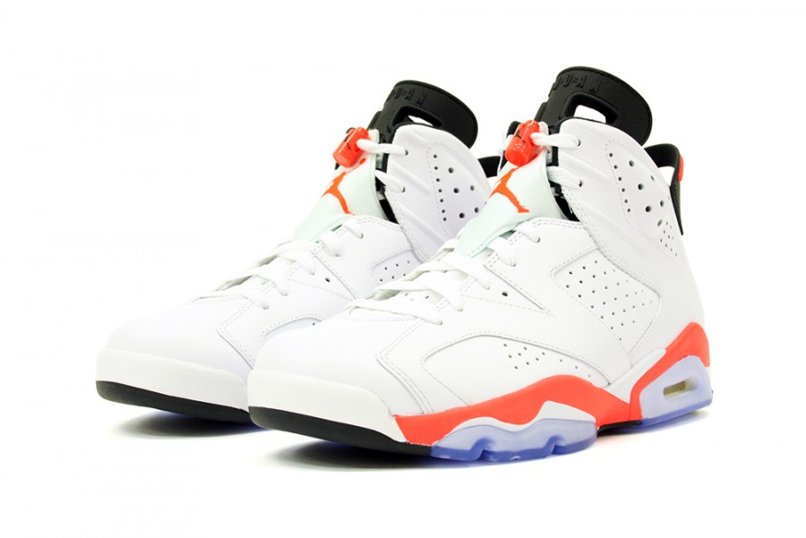 wholesale dealer 6082e 7fa2b Nike Air Jordan 6 VI Retro White Infrared