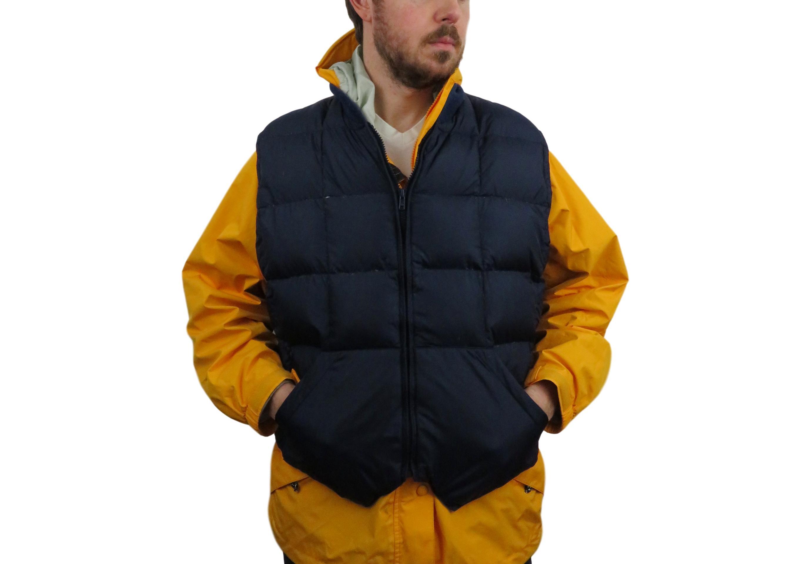 f775ea4aa82ff Vintage × Cabelas ×. Cabelas Mens Premier Northern Goose Down Vest Size  Medium ...