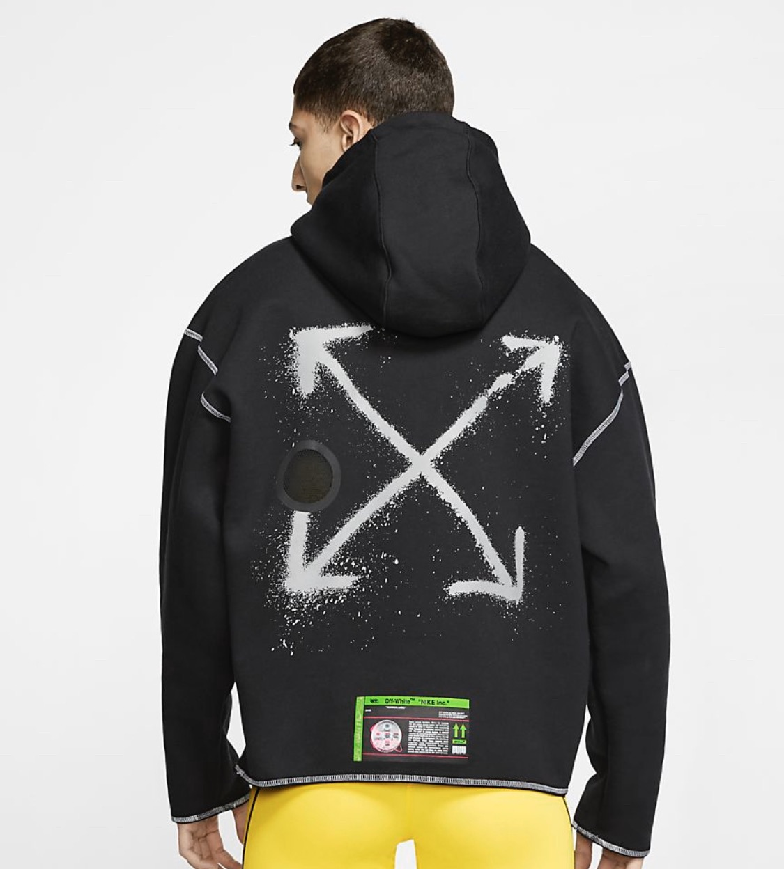 recursos humanos Puntualidad contraste  Nike Off White X Nike Hoodie Black ‼️final Drop‼️   Grailed