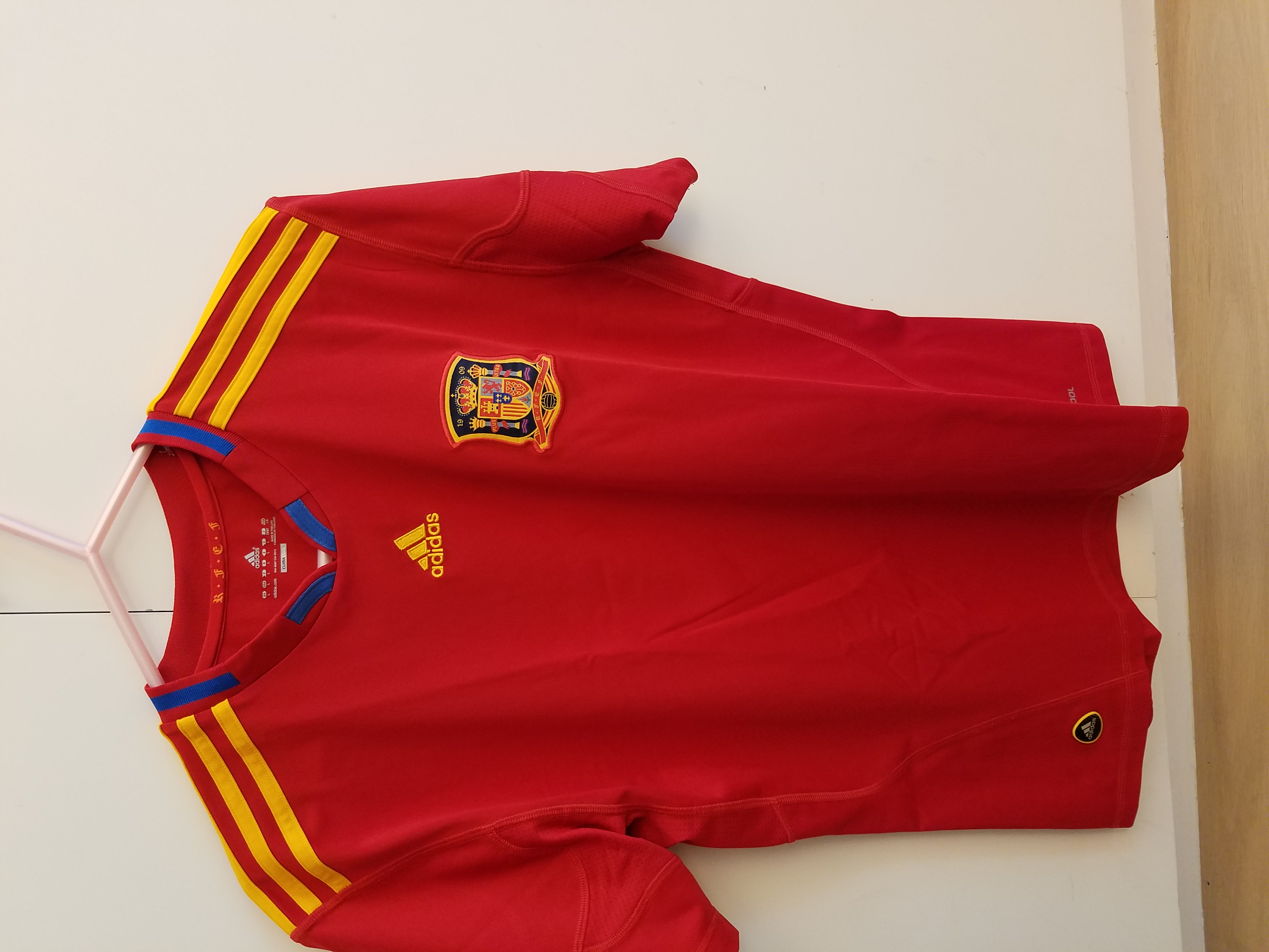 Adidas Spain World Cup 2010 Home Kit