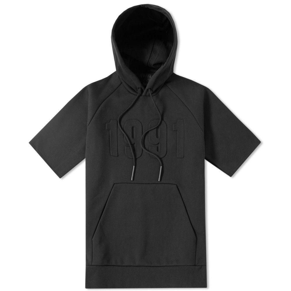 028464d3a364 Jordan Brand Nike Air Jordan Pinnacle Black Short Sleeve Hoodie Medium