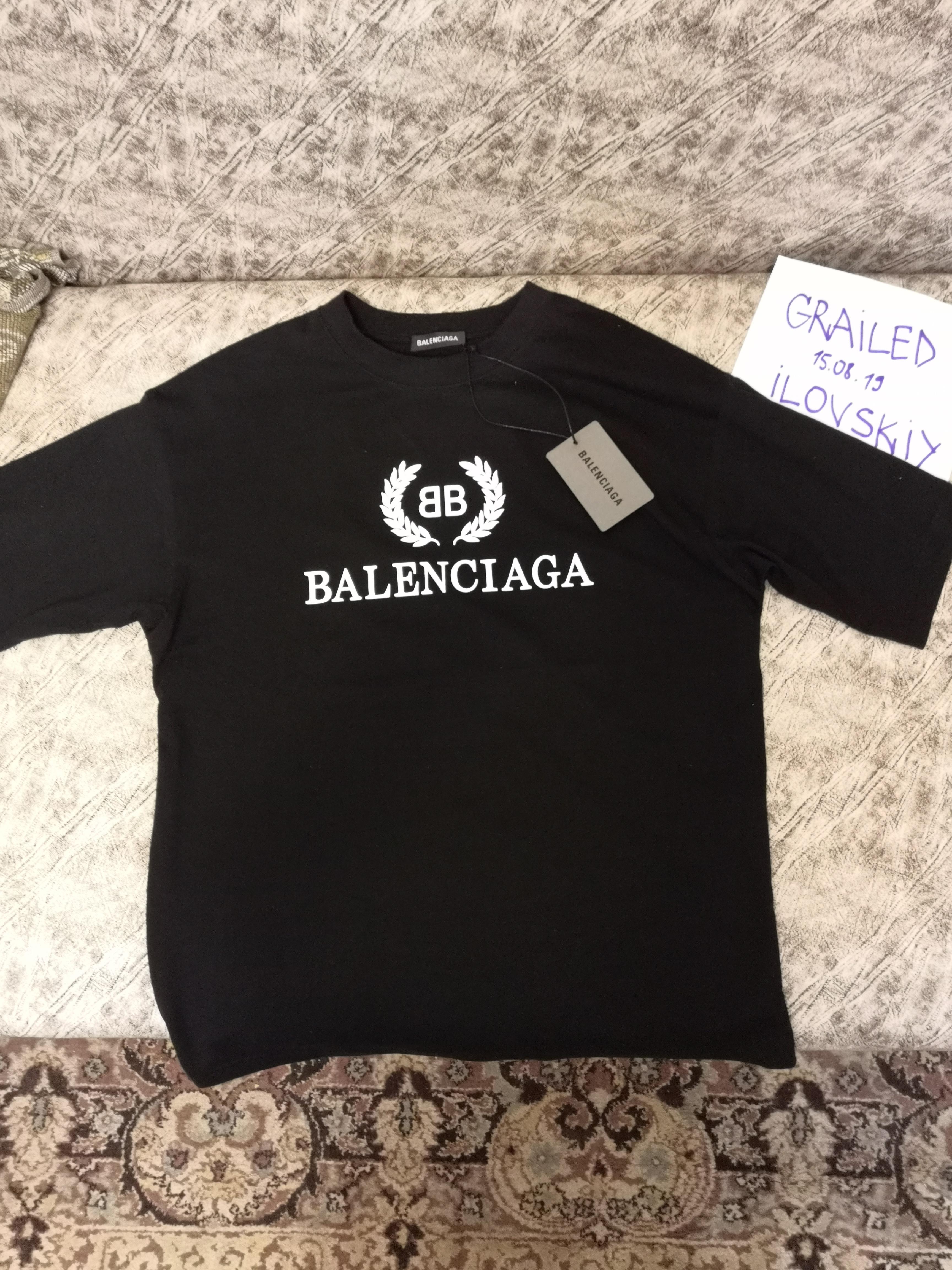 double t shirt balenciaga