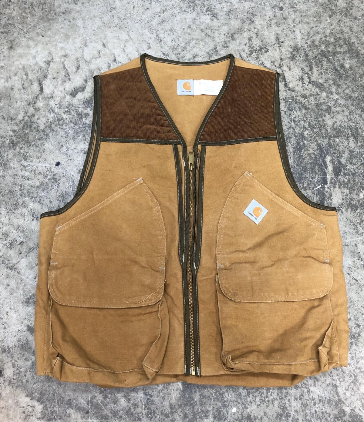 Vintage Unique Vintage 90s Carhartt Hunting Vest Grailed