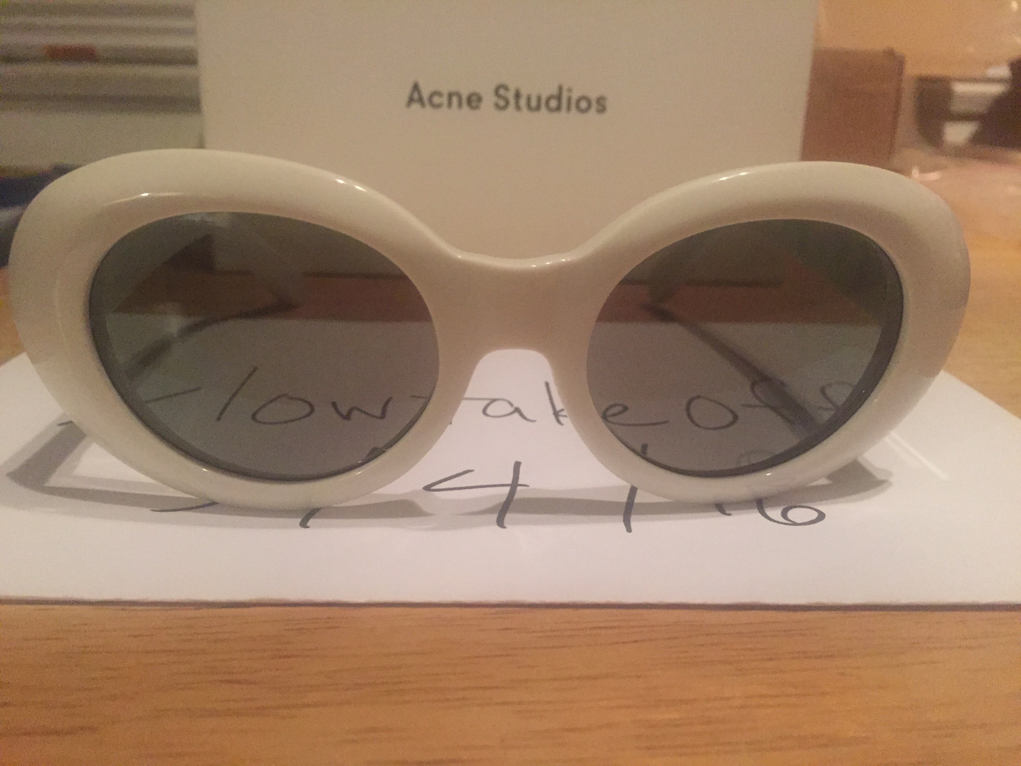 fdfb68fc0011b Acne Studios Off White Mustang Sunglasses