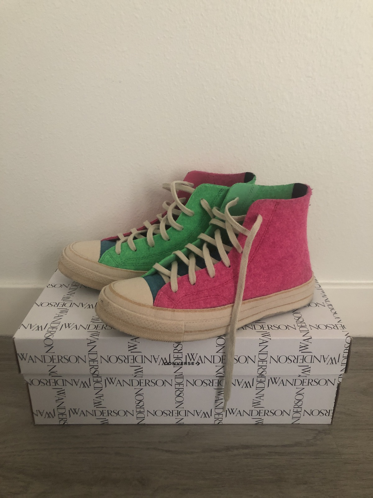 newest collection a670a 2ff38 Converse JW Anderson Color Block Sneakers