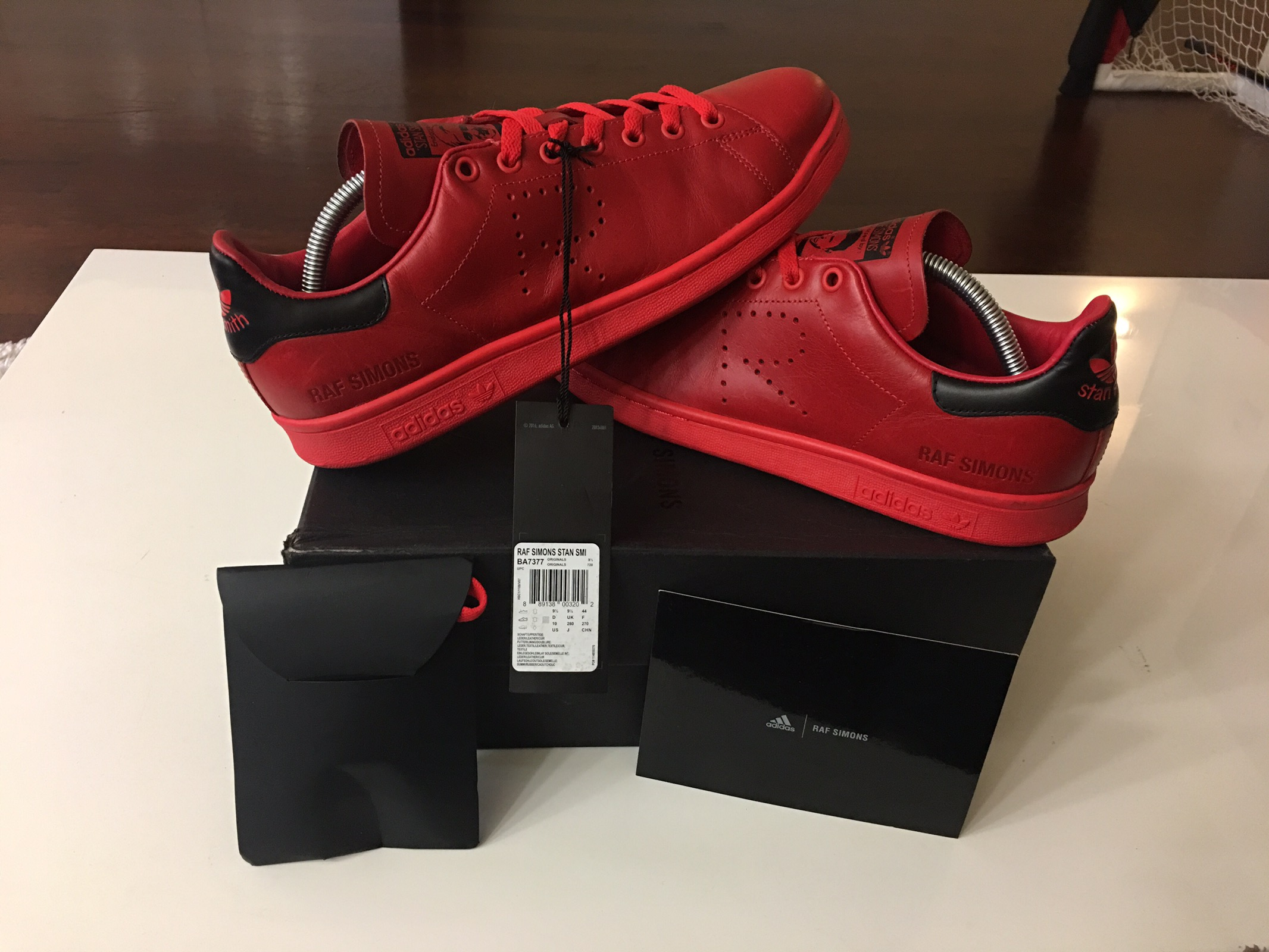new concept 0b214 d9bab Adidas Adidas Raf Simons Stan Smith Tomato Red 400 Value High Quality  Leather Size 10 - Low-Top Sneakers for Sale - Grailed