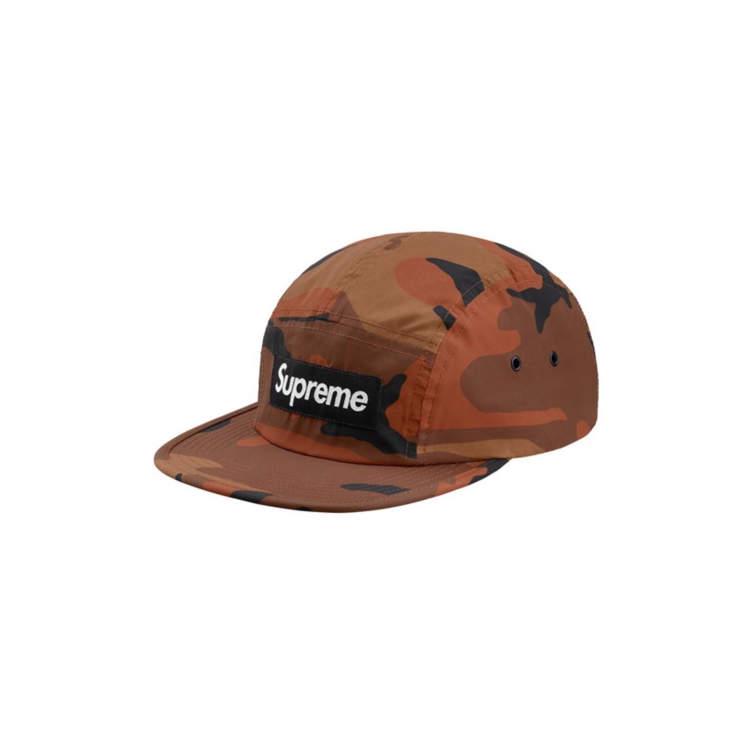4d24d5e595e Supreme Supreme Reflective Camo Camp Cap - Orange Size one size - Hats for  Sale - Grailed