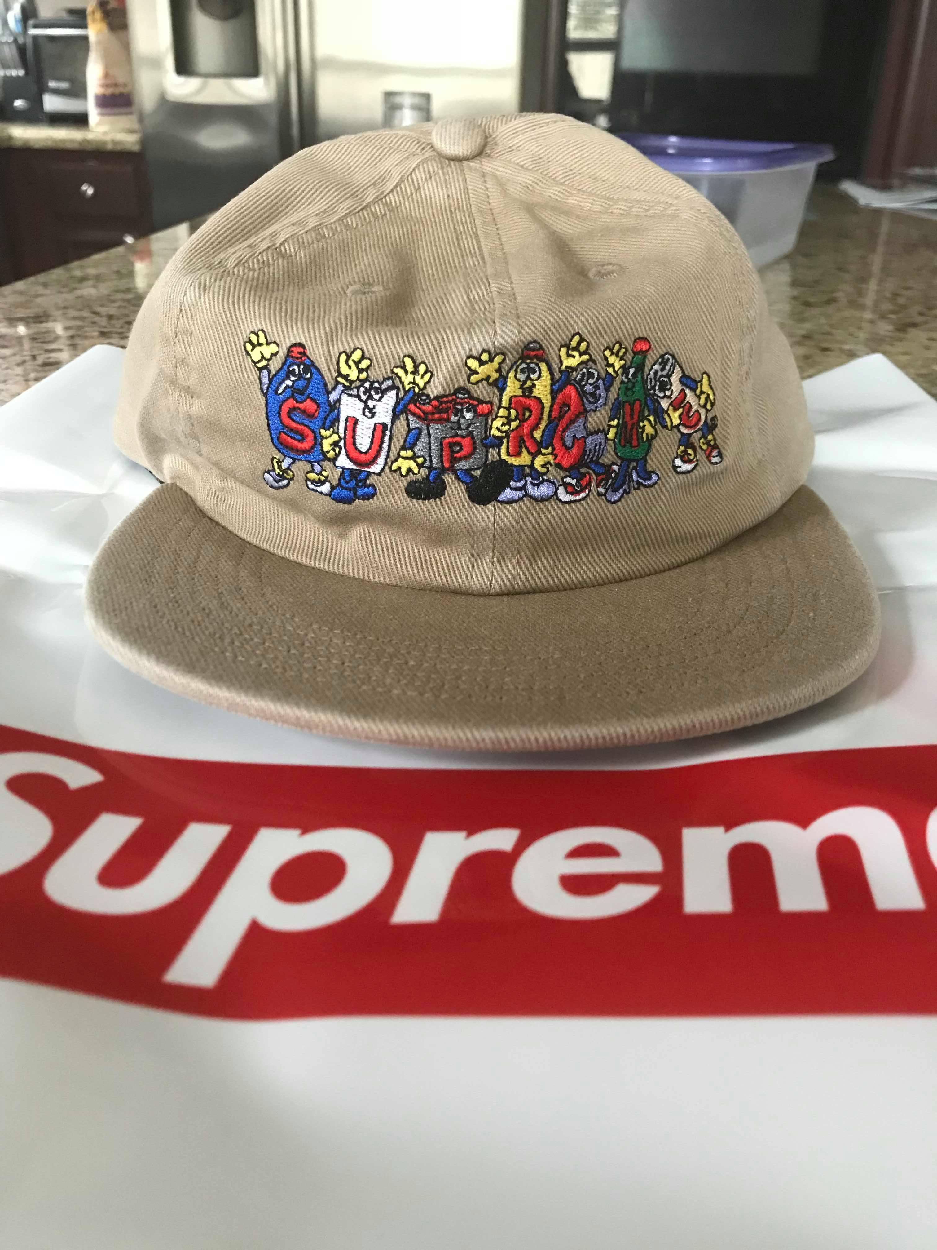 5d4756a4e76 Supreme Supreme Friends 6-Panel Khaki Size one size - Hats for Sale -  Grailed