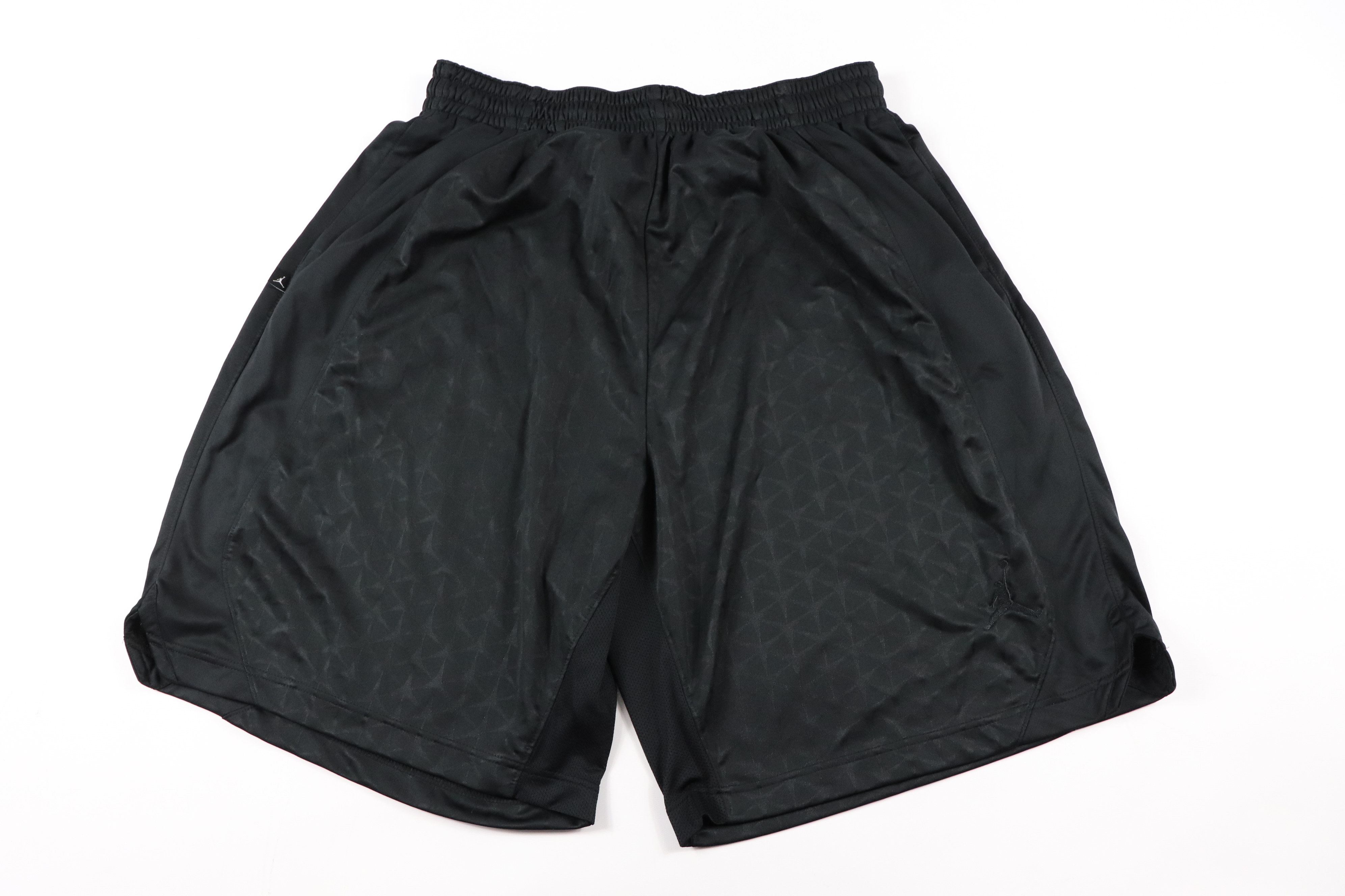 729c72a687d Nike × Jordan Brand ×. Nike Air Jordan Mens 3XL Jumpman Athletic Basketball  Shorts Black Polyester