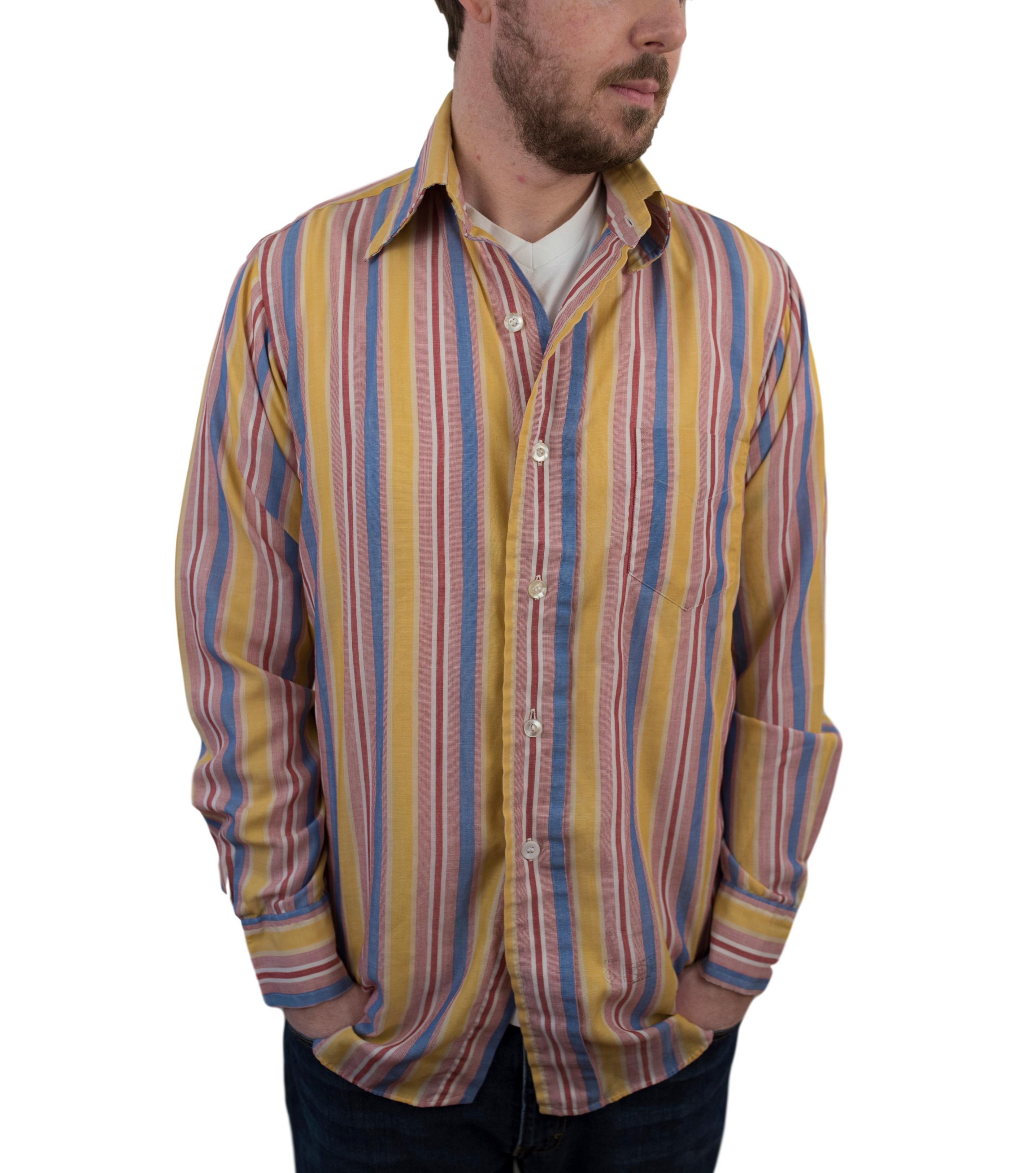 61a7e4f6f5 Vintage × Gant × Streetwear. Vintage 60s Gant Mens Long Sleeve Dress Shirt  ...