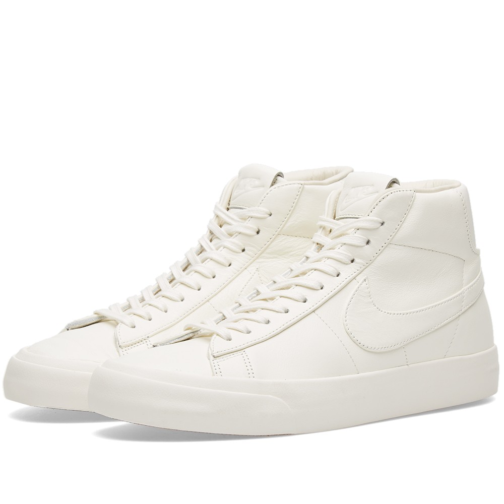 buy popular ea56f ab4e5 Nike NikeLab Blazer Studio Mid QS (Sail  Gum Light Brown) Size 10 - Hi-Top  Sneakers for Sale - Grailed
