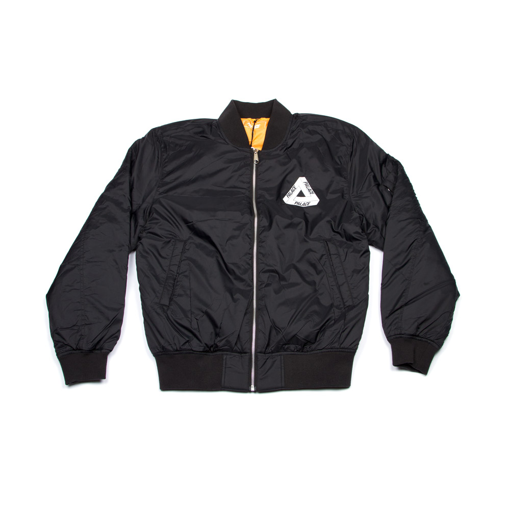 fe6a342bda0b Palace Thinsulate Bomber Anthracite