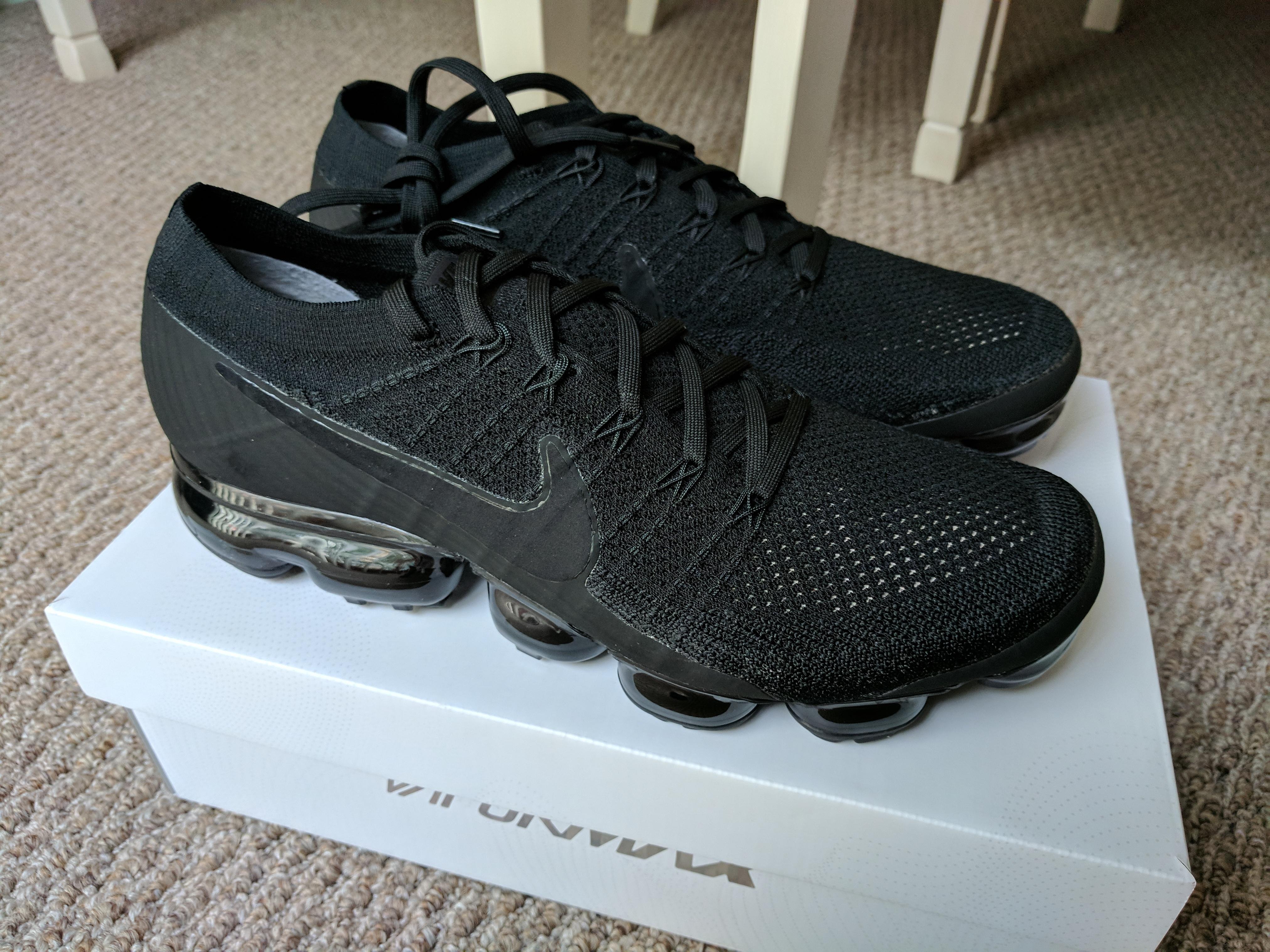 promo code b8541 2a9a5 Nike Air VaporMax Triple Black 3.0