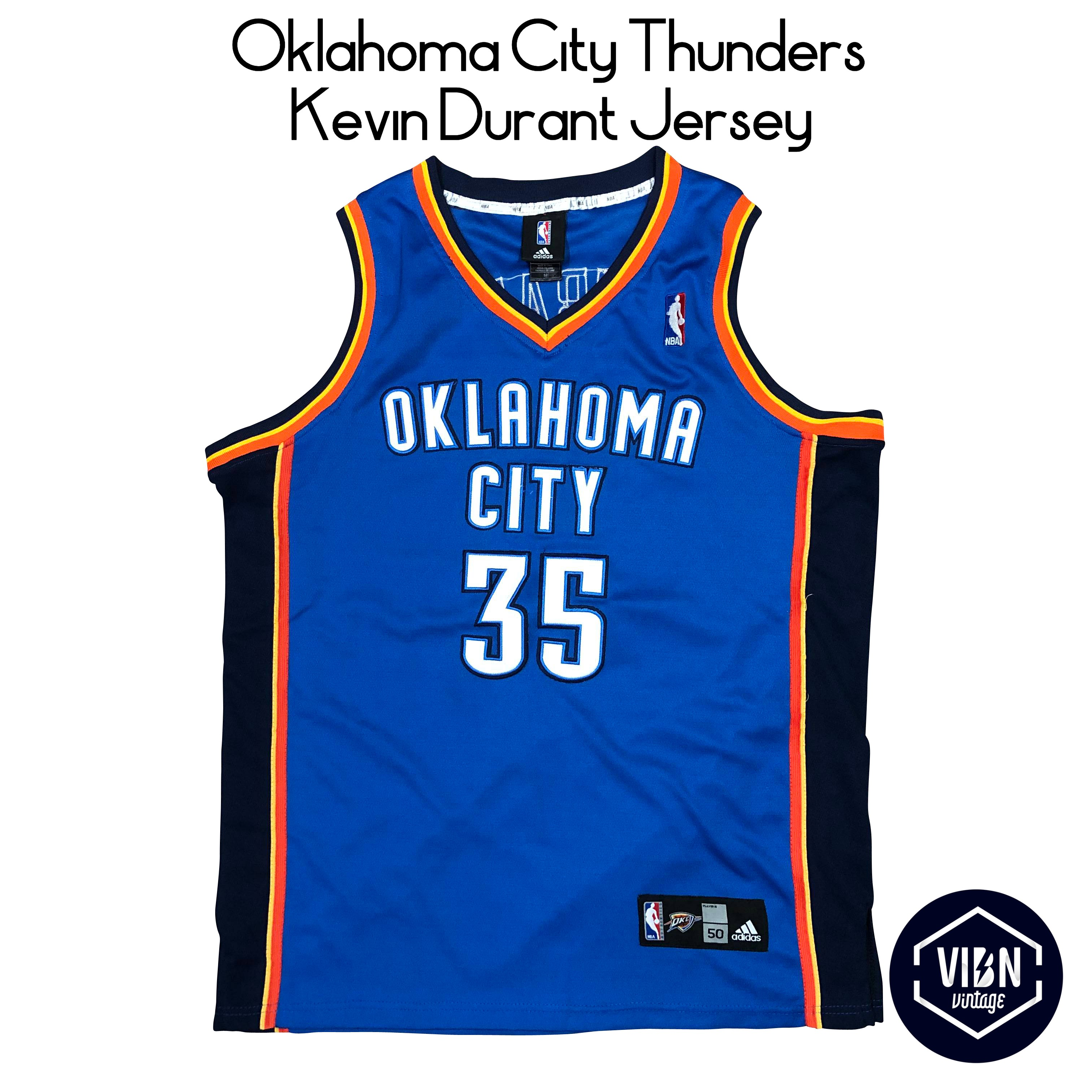 best service 7df4c cf8e8 Oklahoma City Thunders Kevin Durant Jersey