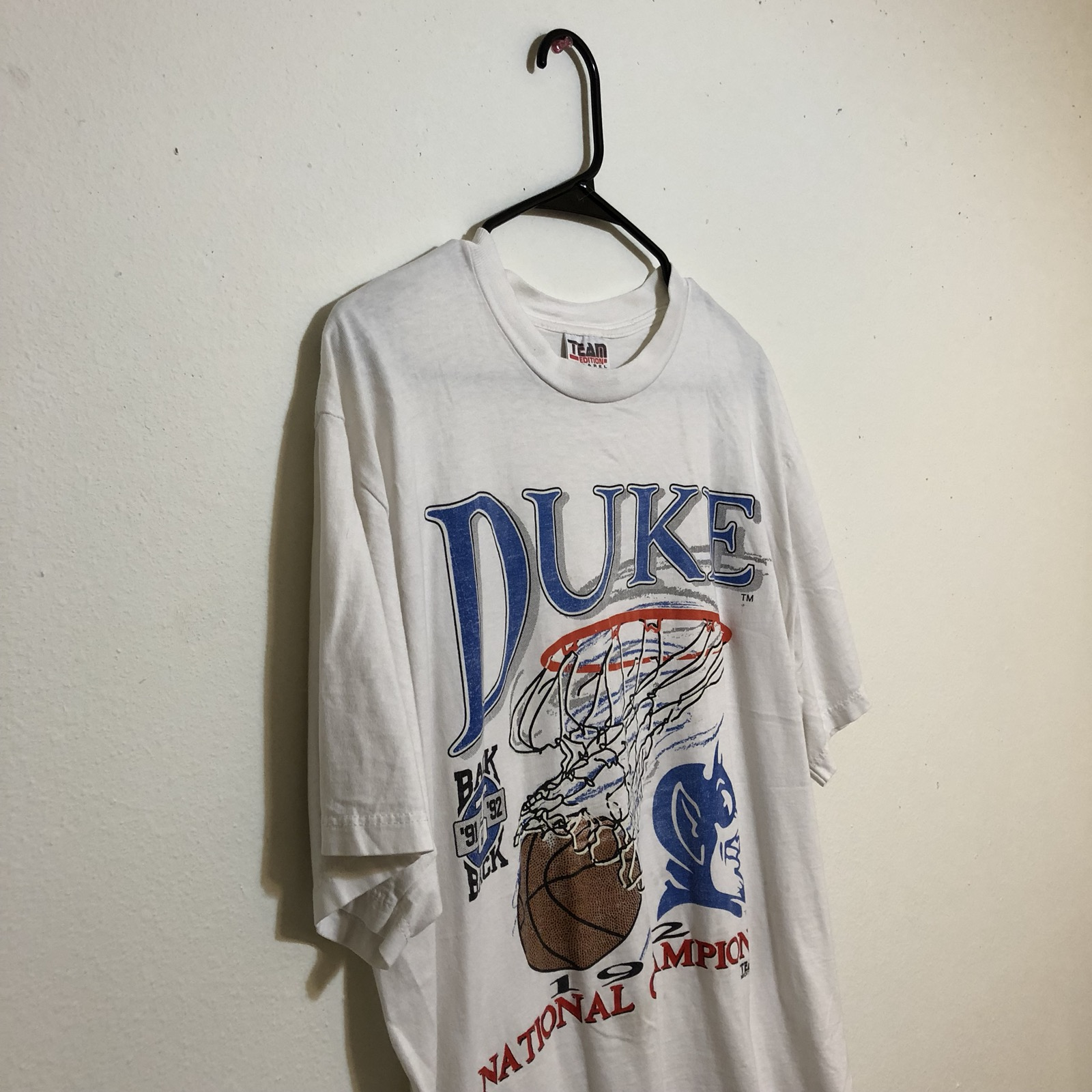 new arrival 64a20 f78d5 Vintage Duke Basketball Shirts - DREAMWORKS