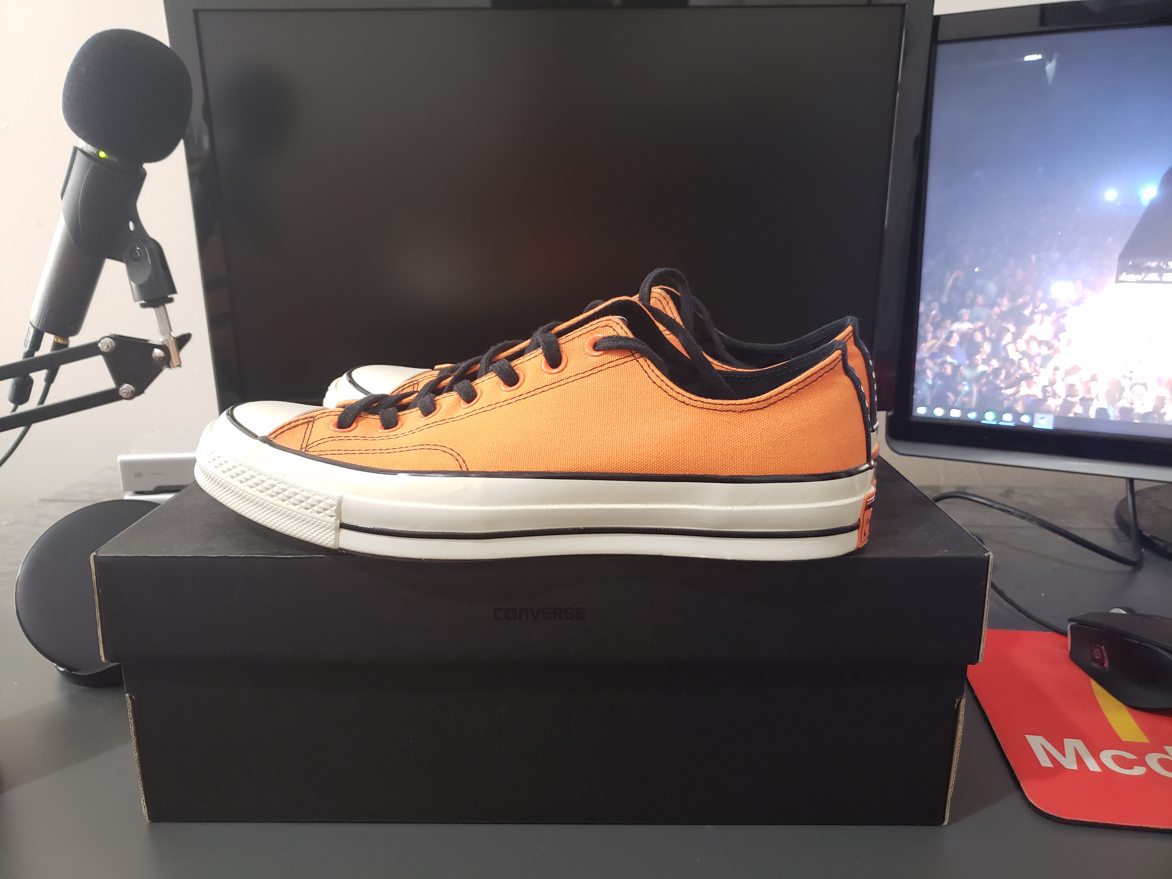 innovative design ec0f0 26667 Converse × Vince Staples Merch ×. Converse Chuck Taylor All-Star 70s Ox  Vince Staples Orange
