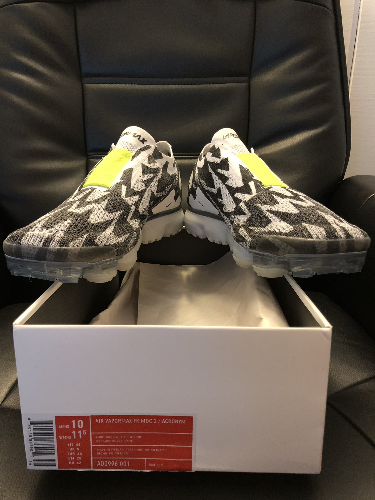 2341fc9c0de7 Nike Nike Vapormax Moc 2   Acronym Size 10 - Low-Top Sneakers for Sale -  Grailed