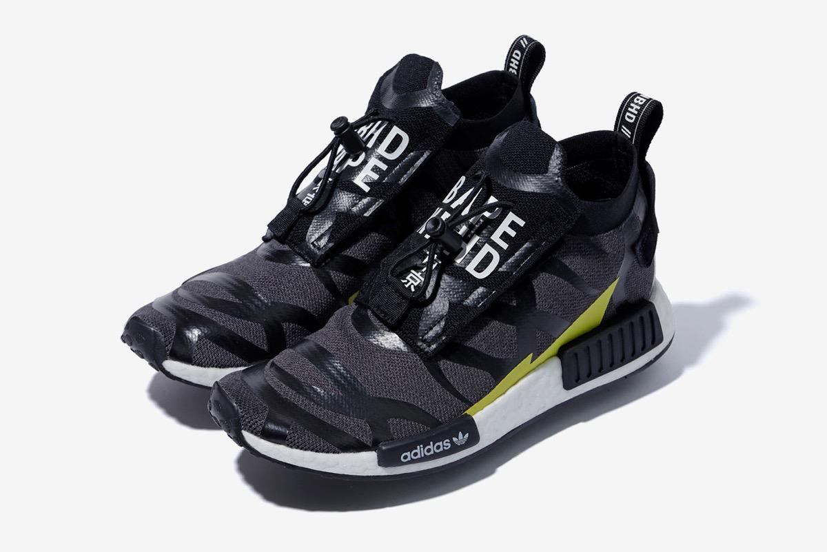 Adidas A BAPE x NEIGHBORHOOD x ADIDAS NMD TS1