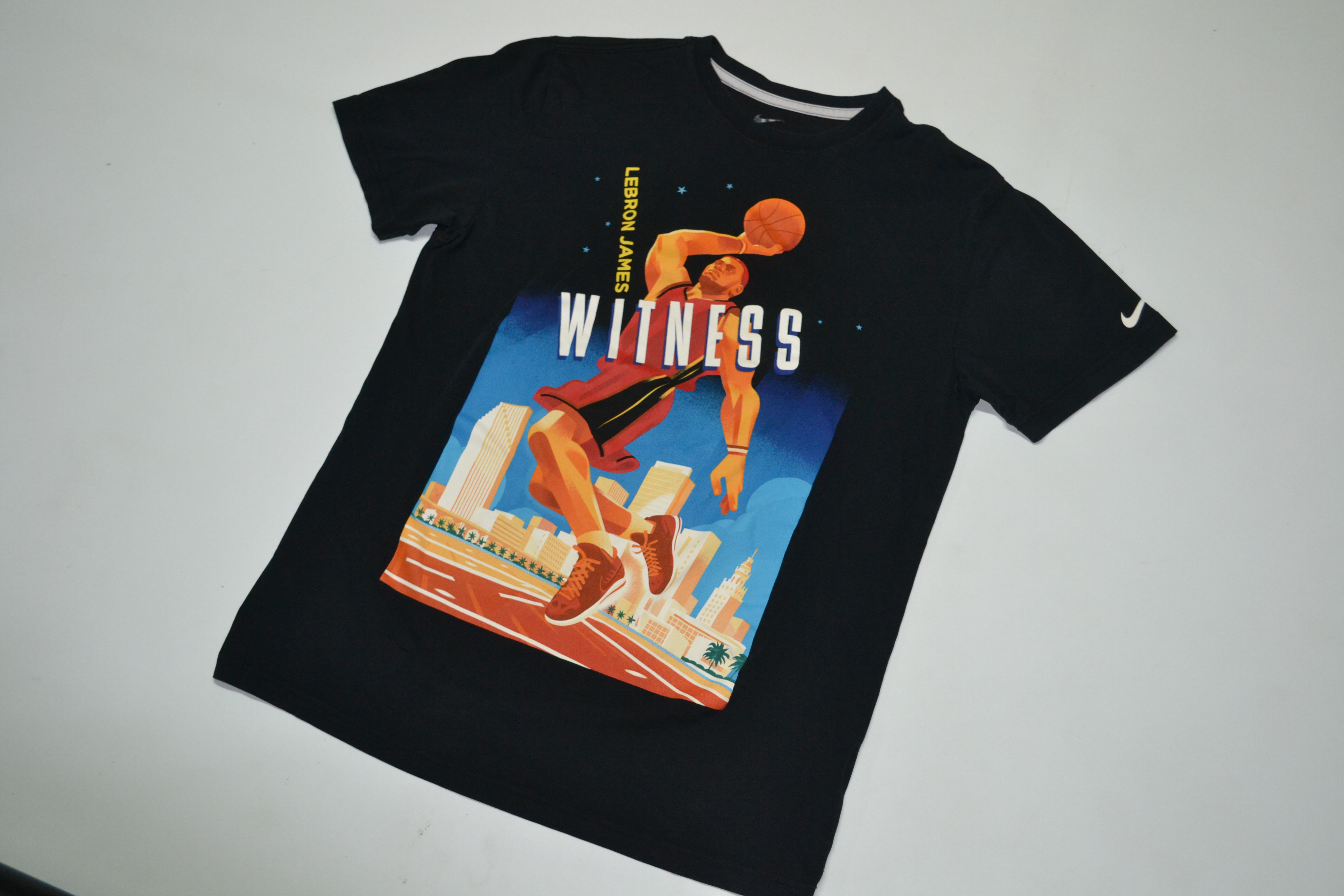 bc1dfef3bed0 Nike Lebron James Witness Greatness Graphic Tee Nike Size Large Lbj ...