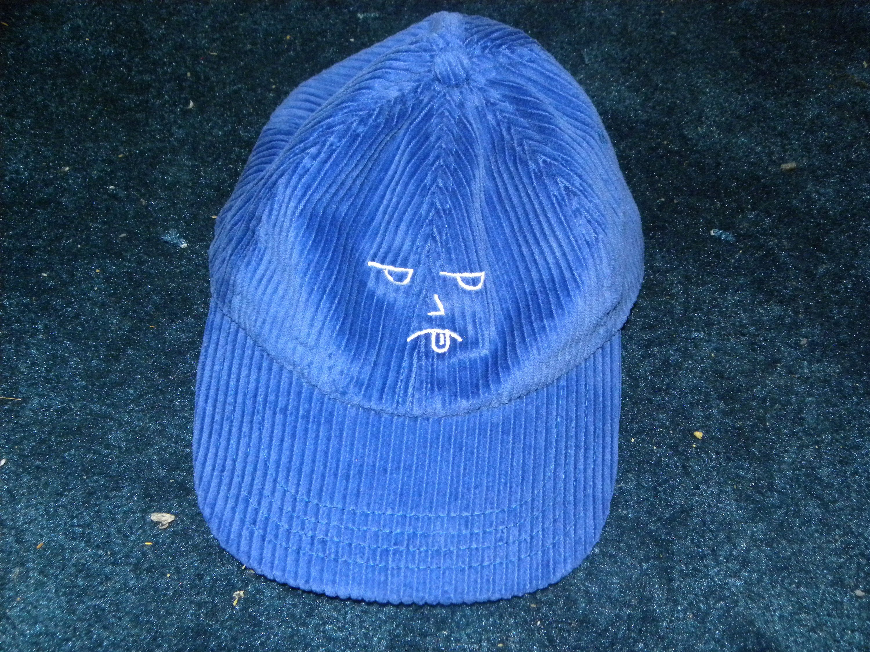 BLUES CLUES GRUNGE dad hat NEW! retro 80s supreme corduroy usa polo