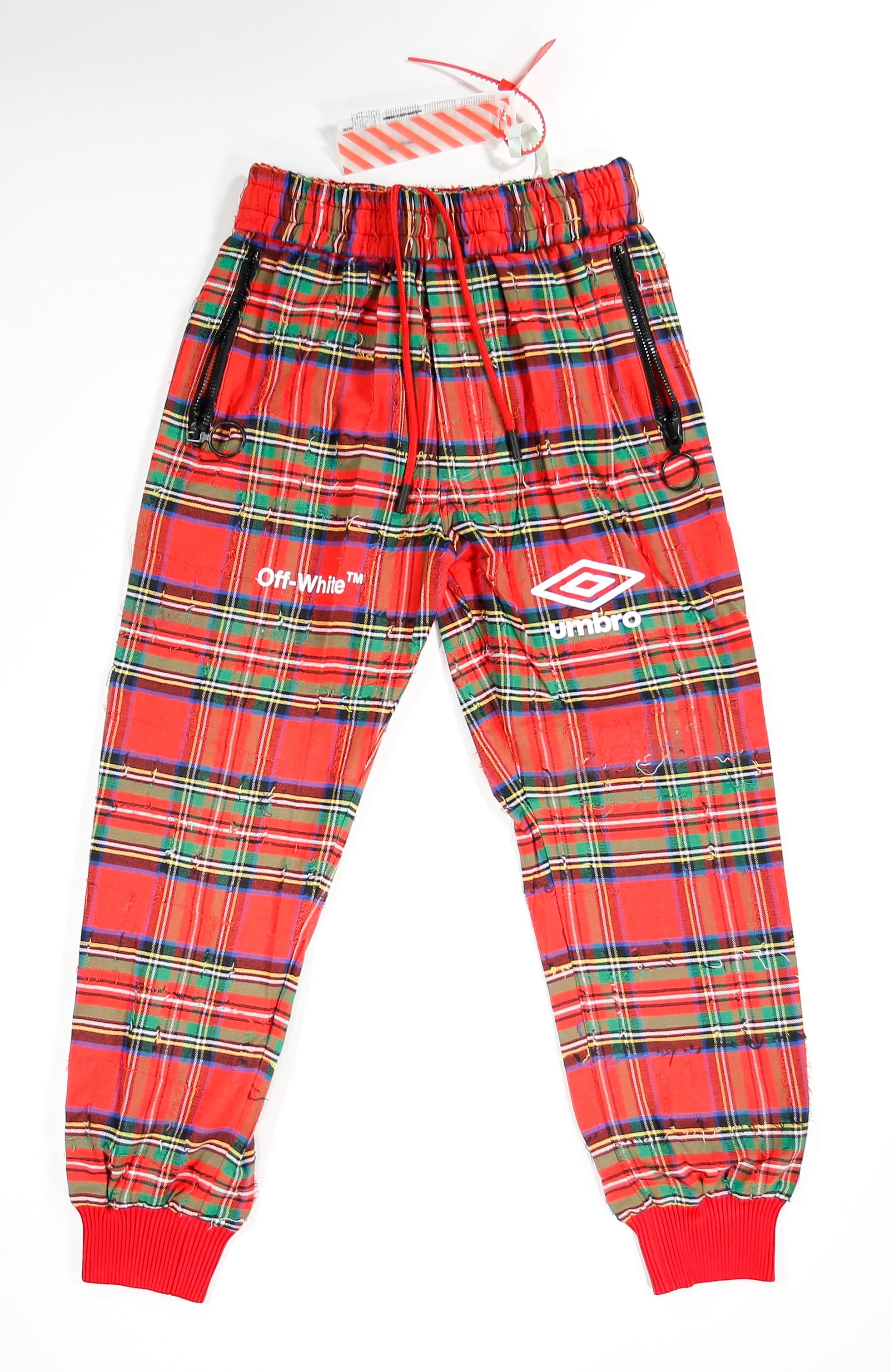 umbro plaid shorts