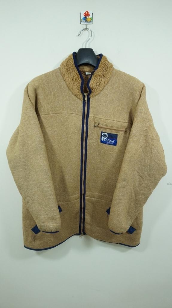 PENFIELD Sherpa Jacket  Medium Vintage 90s Penfield Sportwear Usa Green Warmer Jacket Penfield Sweater Size M